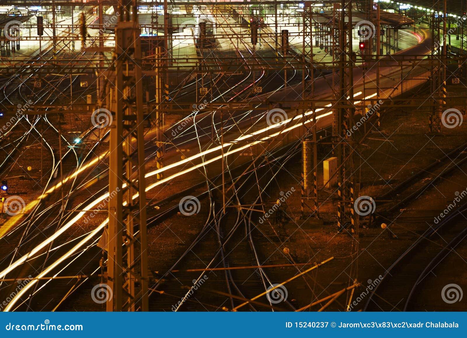 Schwieriges Schienennetz