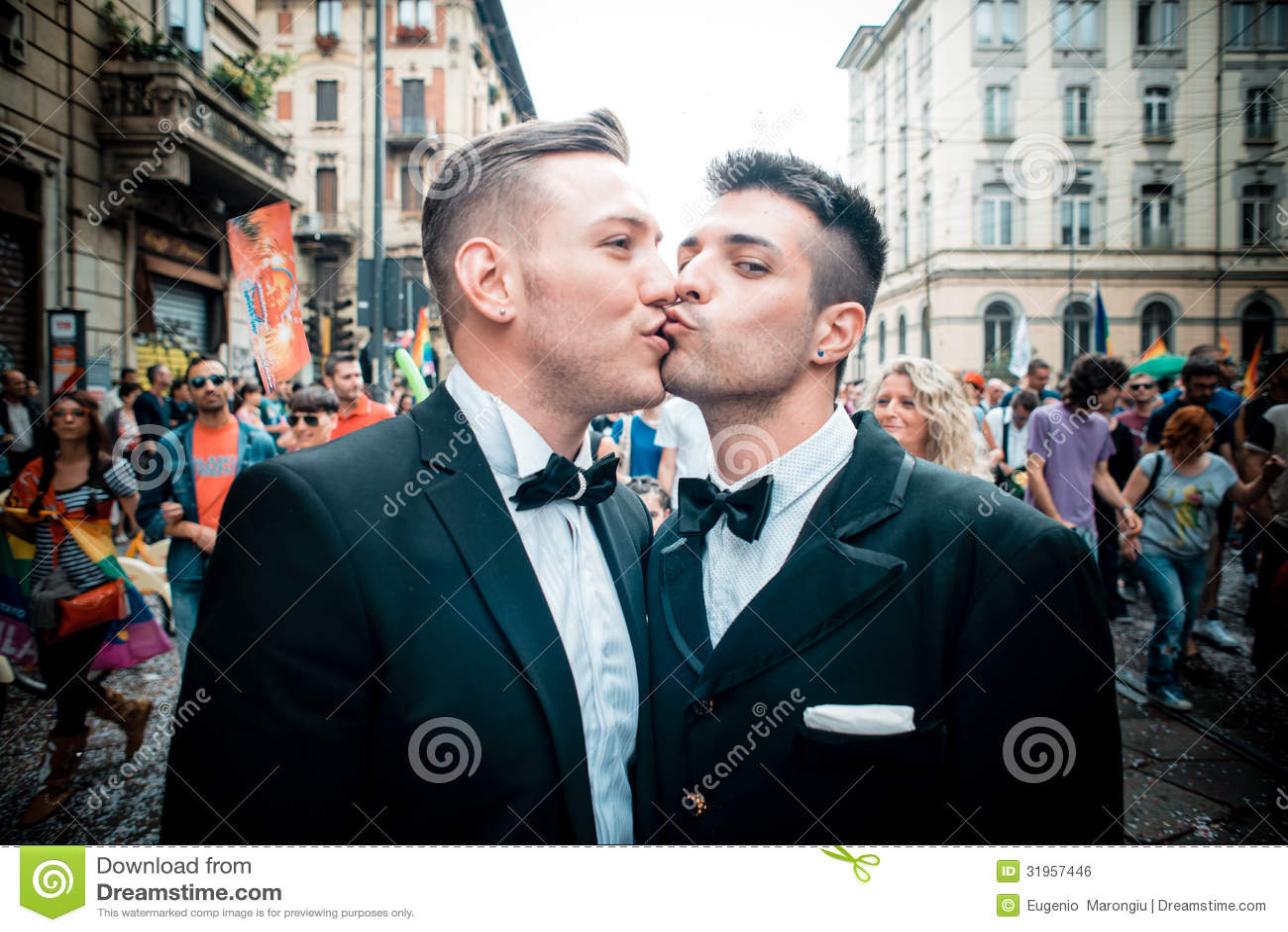 Schwulenparade in Mailand im Juni, 29 2013