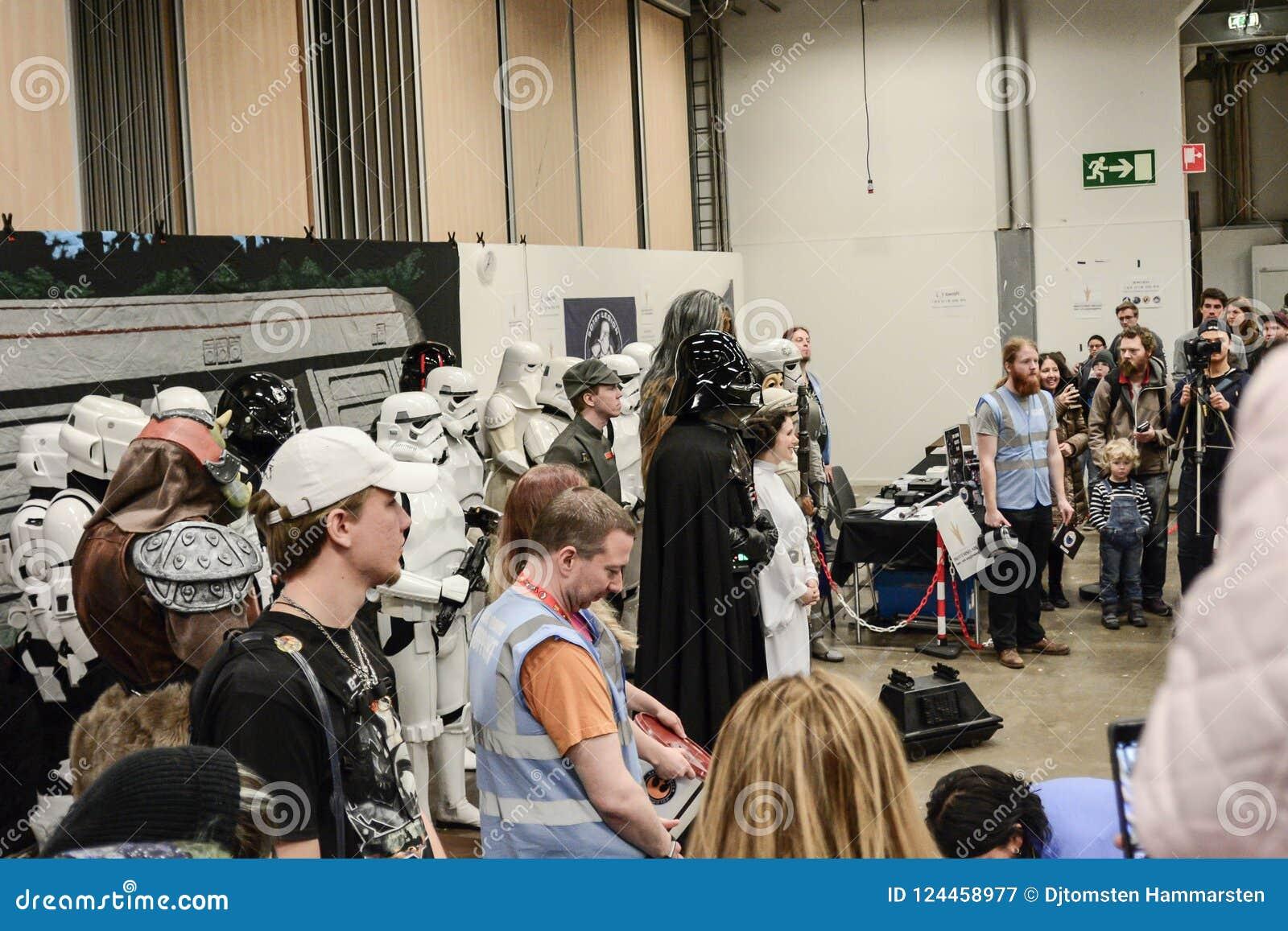 Sci fi konwencja w Gothenburg spacer wokoło