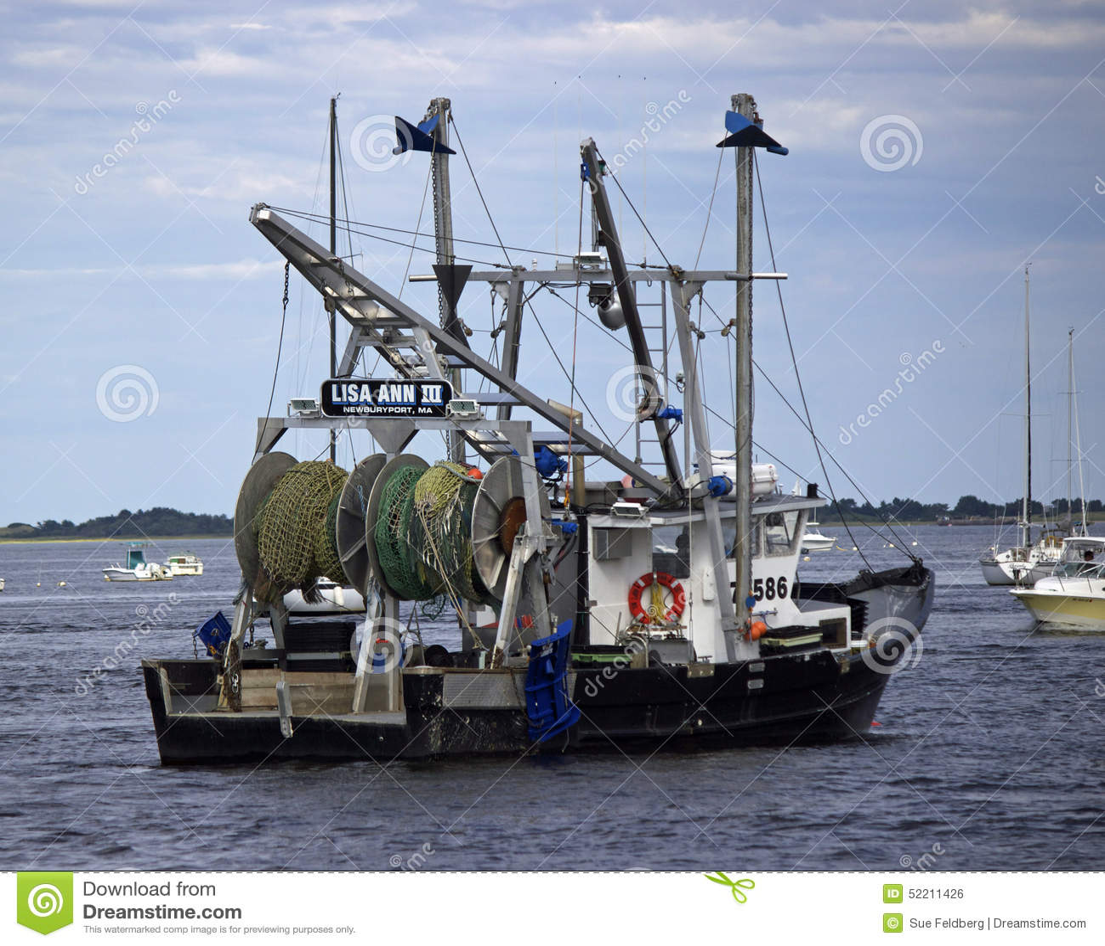 Sciabica di pesca di Newburyport