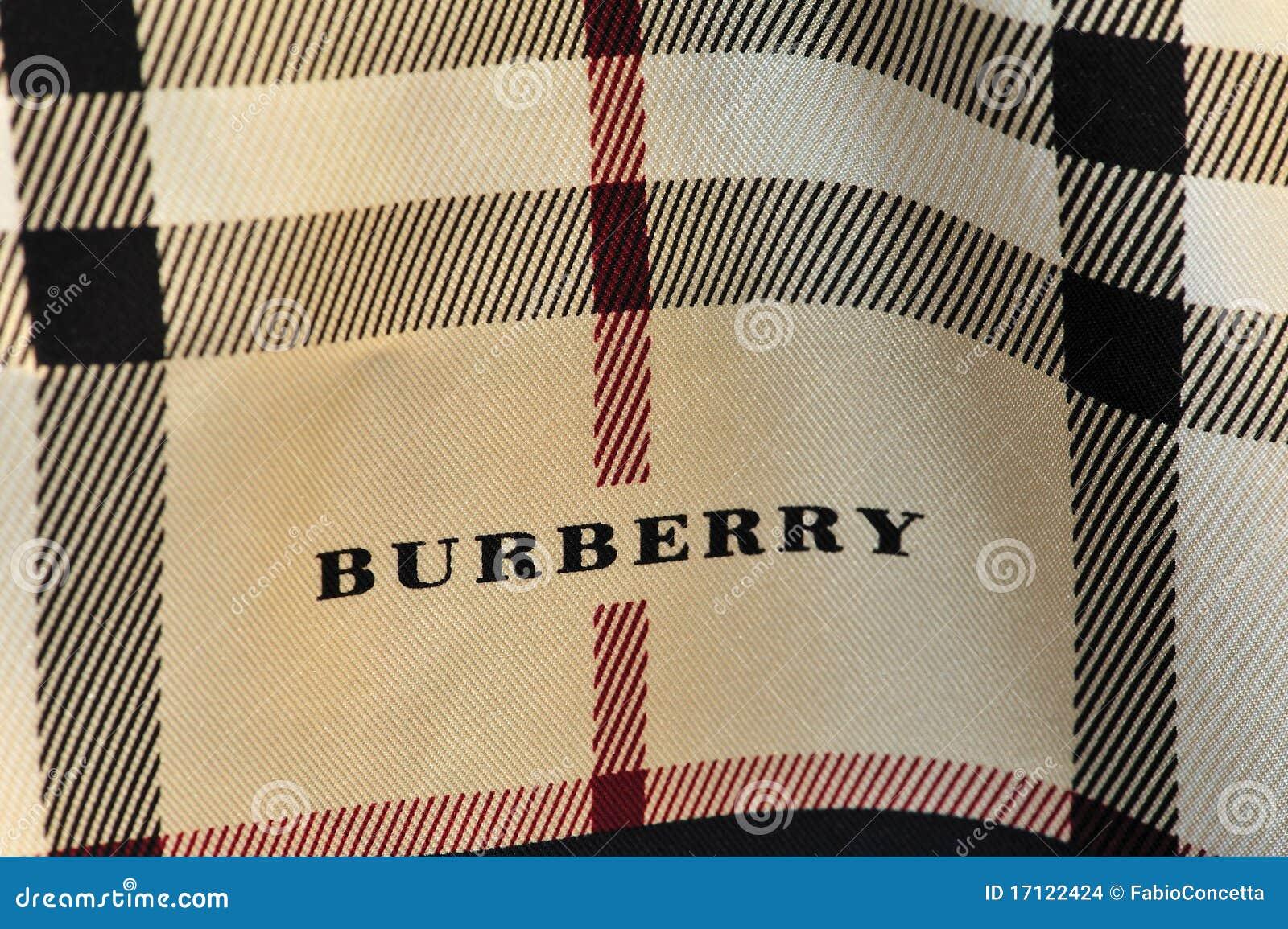 Sciarpa Di Burberry Immagine Stock Editoriale Immagine
