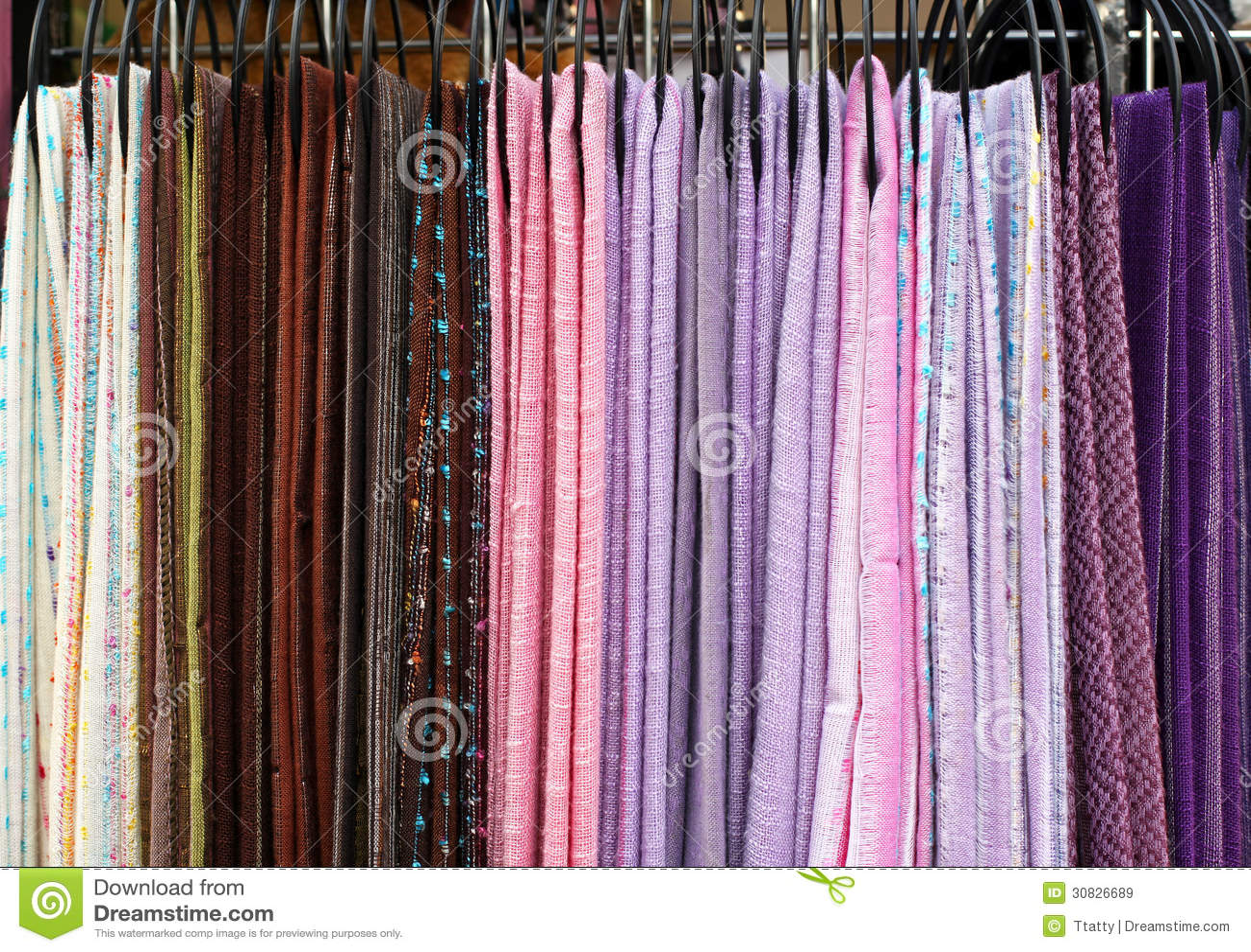 Sciarpe del tessuto