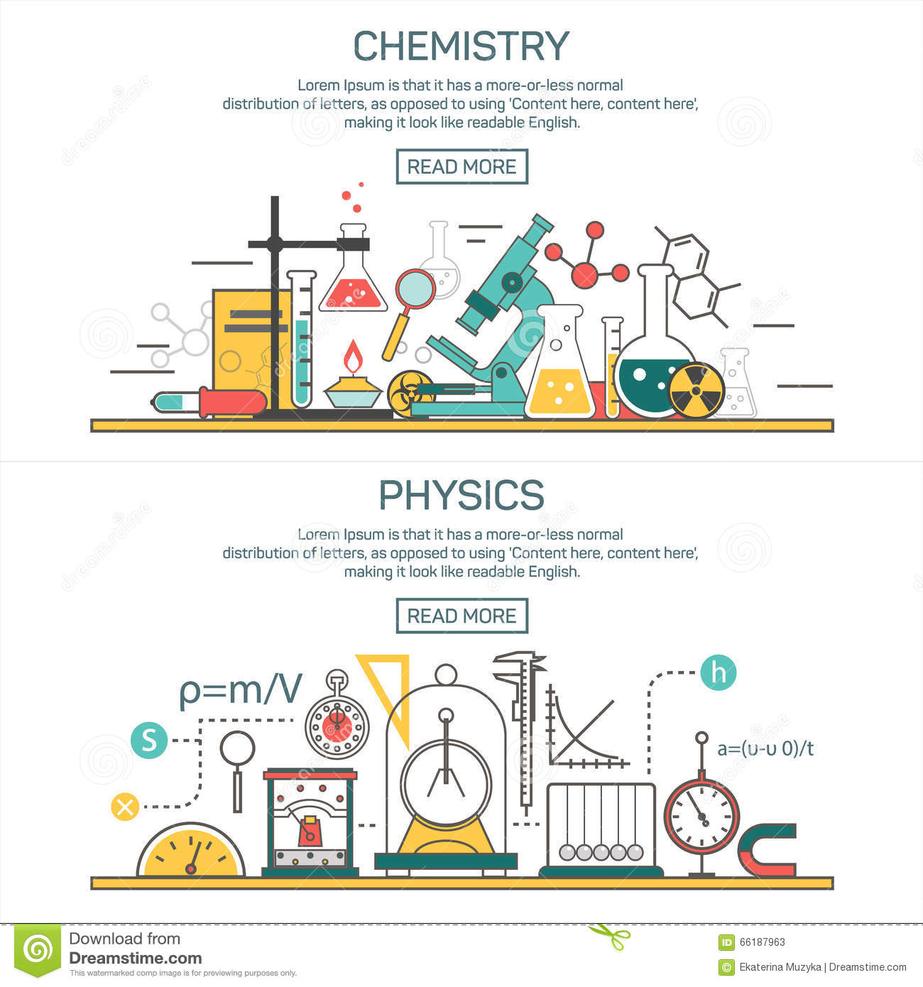 Physics Science Theory Law And Mathematical Formula ...