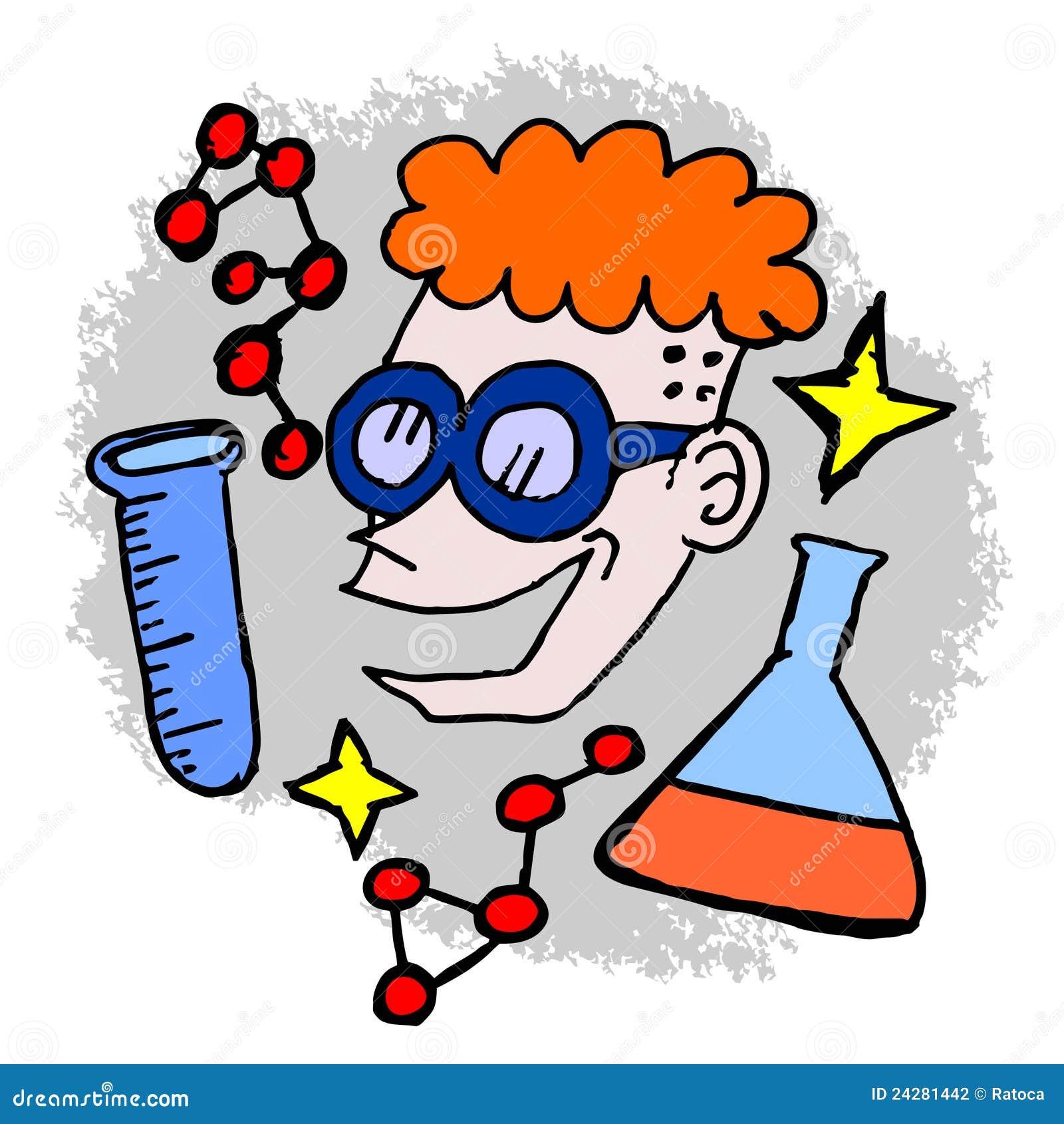 Science Cartoon Stock Photography - Image: 24281442