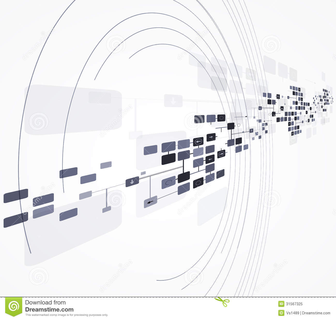 science futuristic internet high computer technology business royalty free stock photo