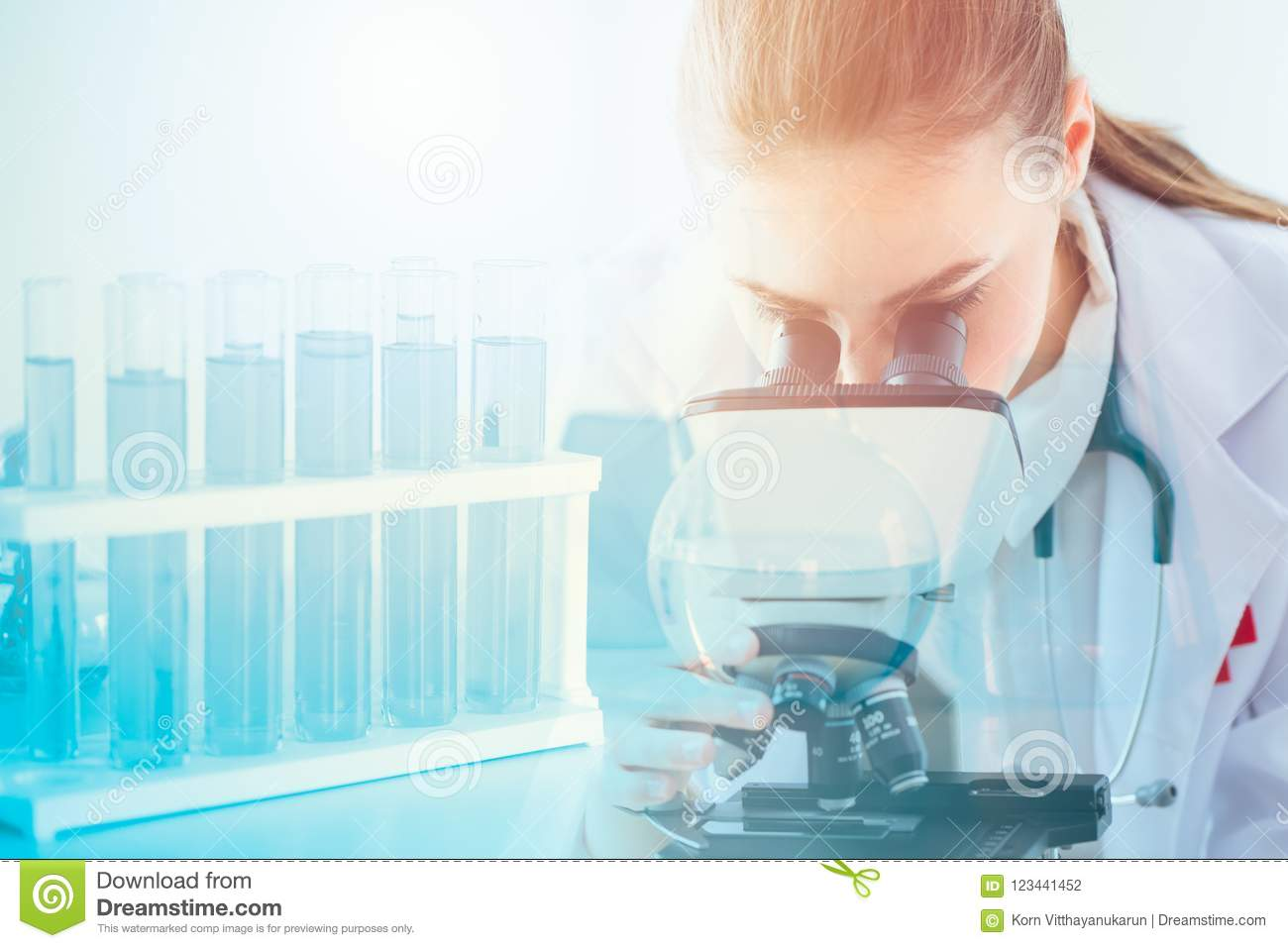 Science health research lab doctor scientist