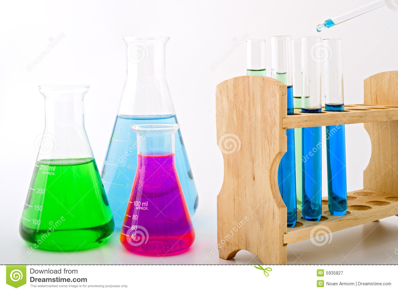 Science lab photography