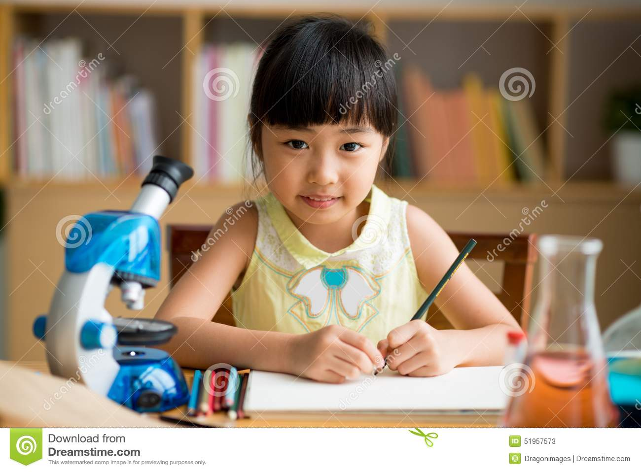 Science Lesson Stock Photo - Image: 51957573