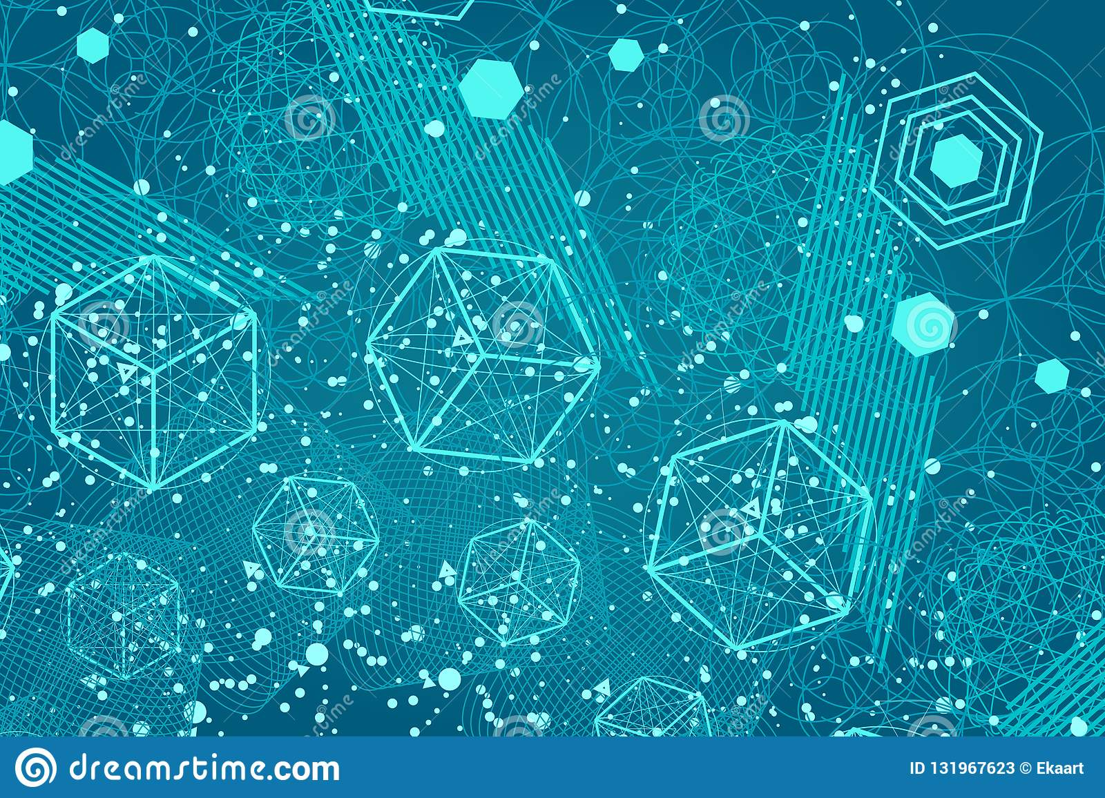 the science and mathematics abstract background stock vector illustration of cube ancient 131967623 https www dreamstime com science mathematics abstract background circles cube triangles lot lines sacred geometry backdrop chemistry image131967623
