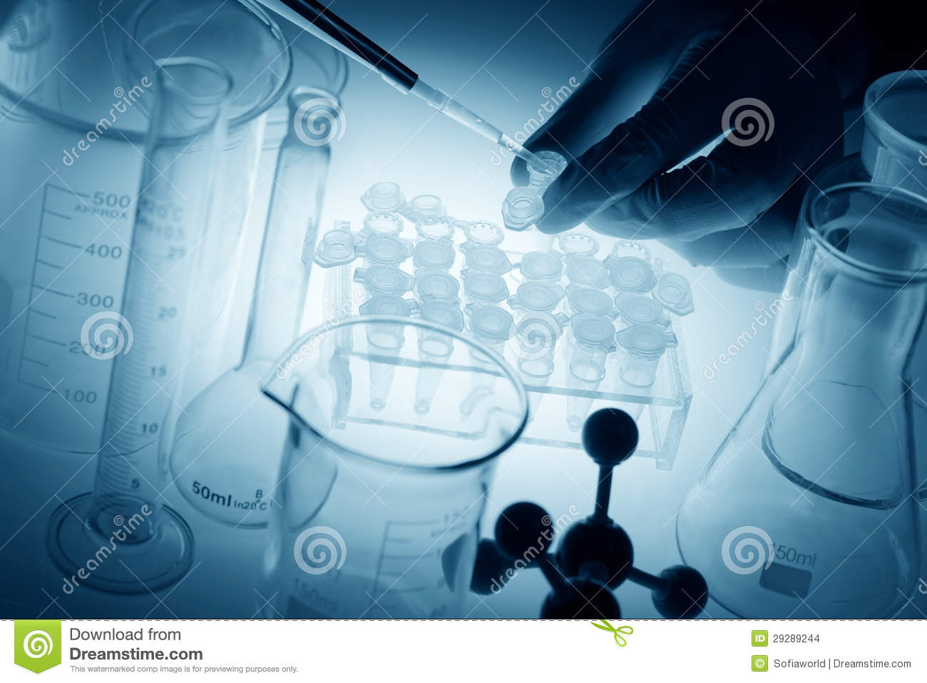 Science And Medical Research Stock Photo - Image of glass ...
