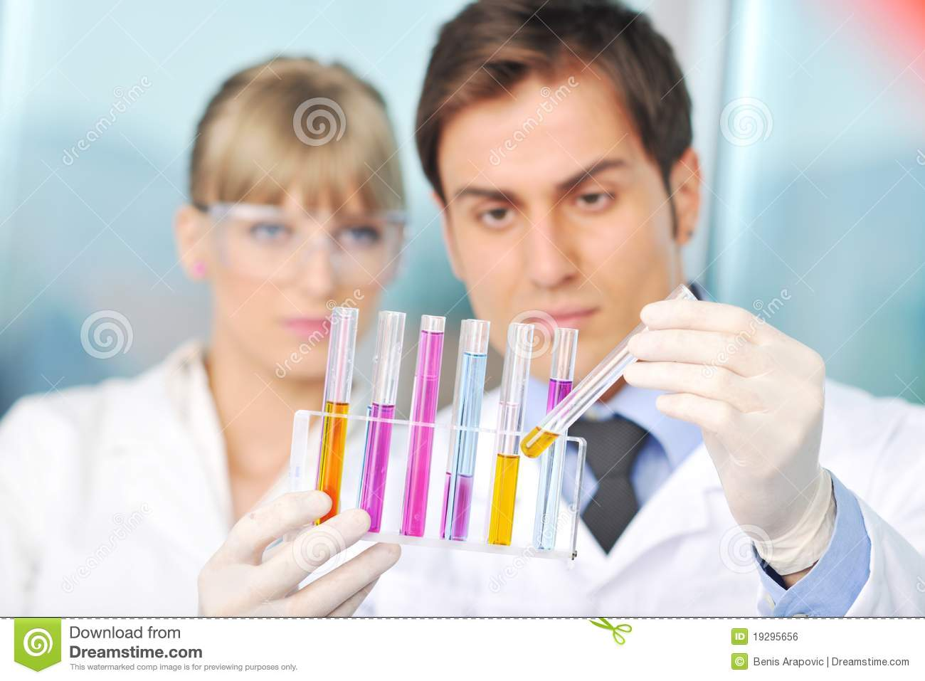 science lab bright royalty biology research youn chemistry couple modern pipette