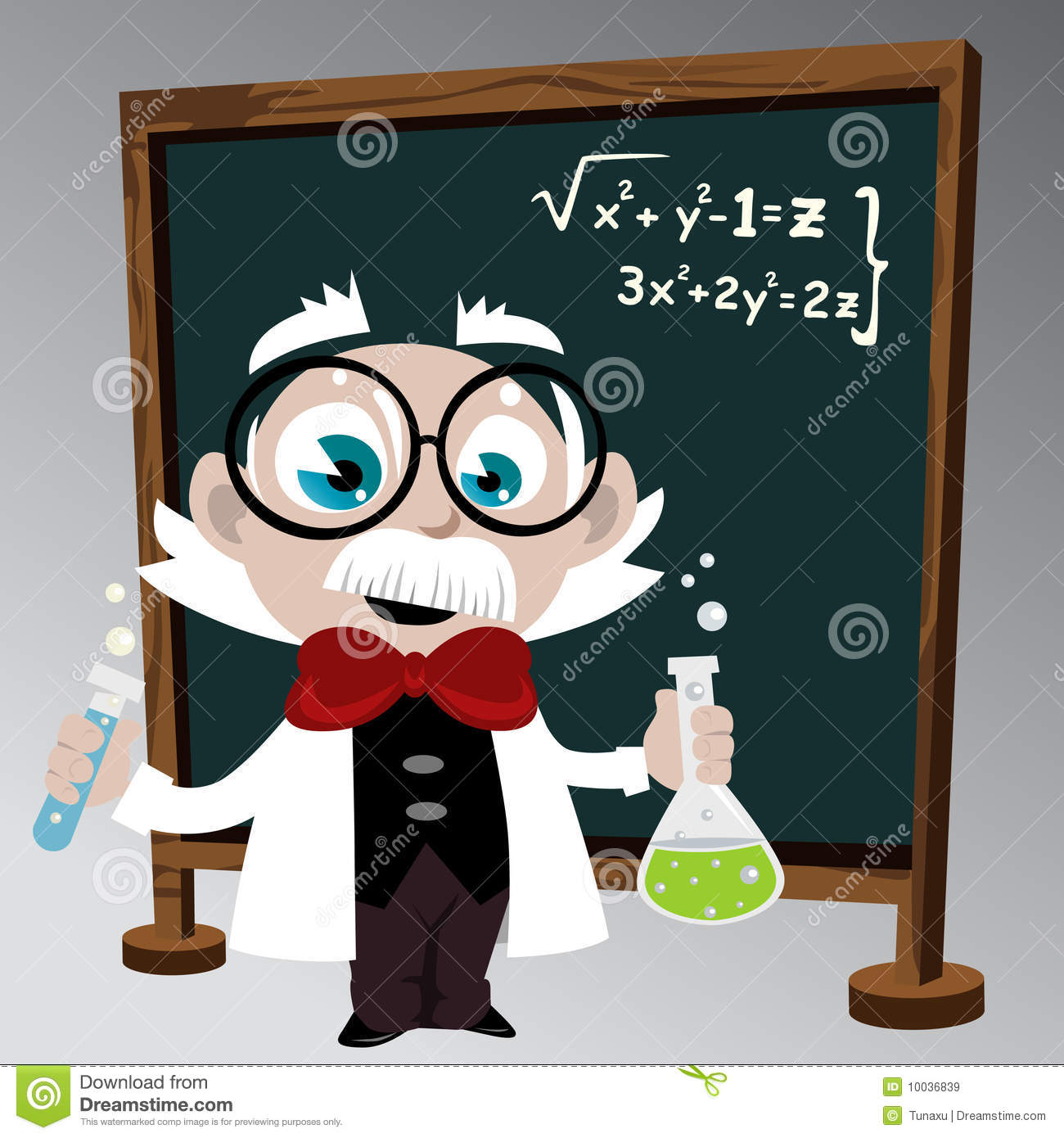 Science Professor Royalty Free Stock Images Image 10036839