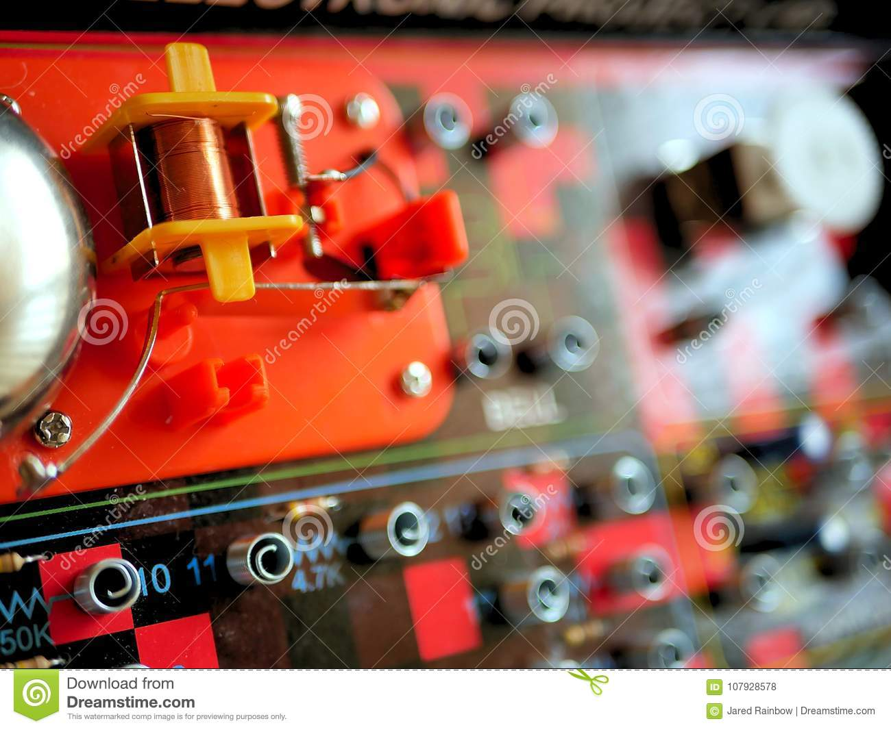 Science And Technology Electrical Circuit Board Education Stock Learn About
