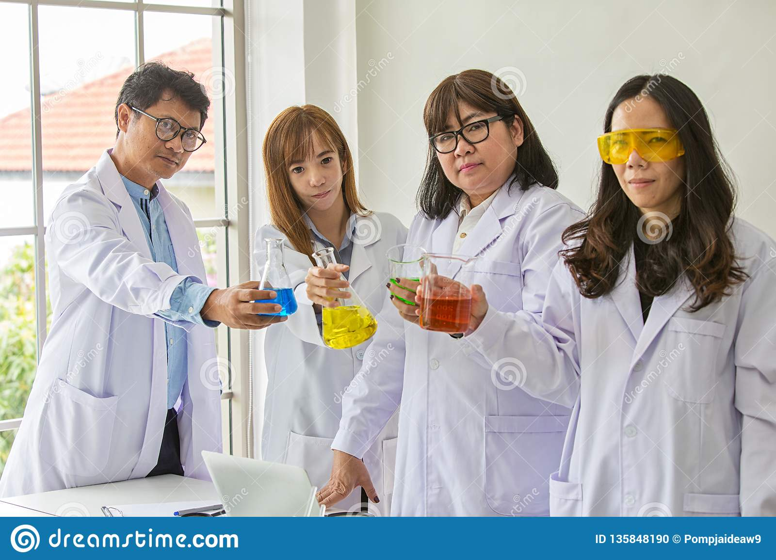 Science Test  Chemist Scientific Testing Quality  Group Scientist