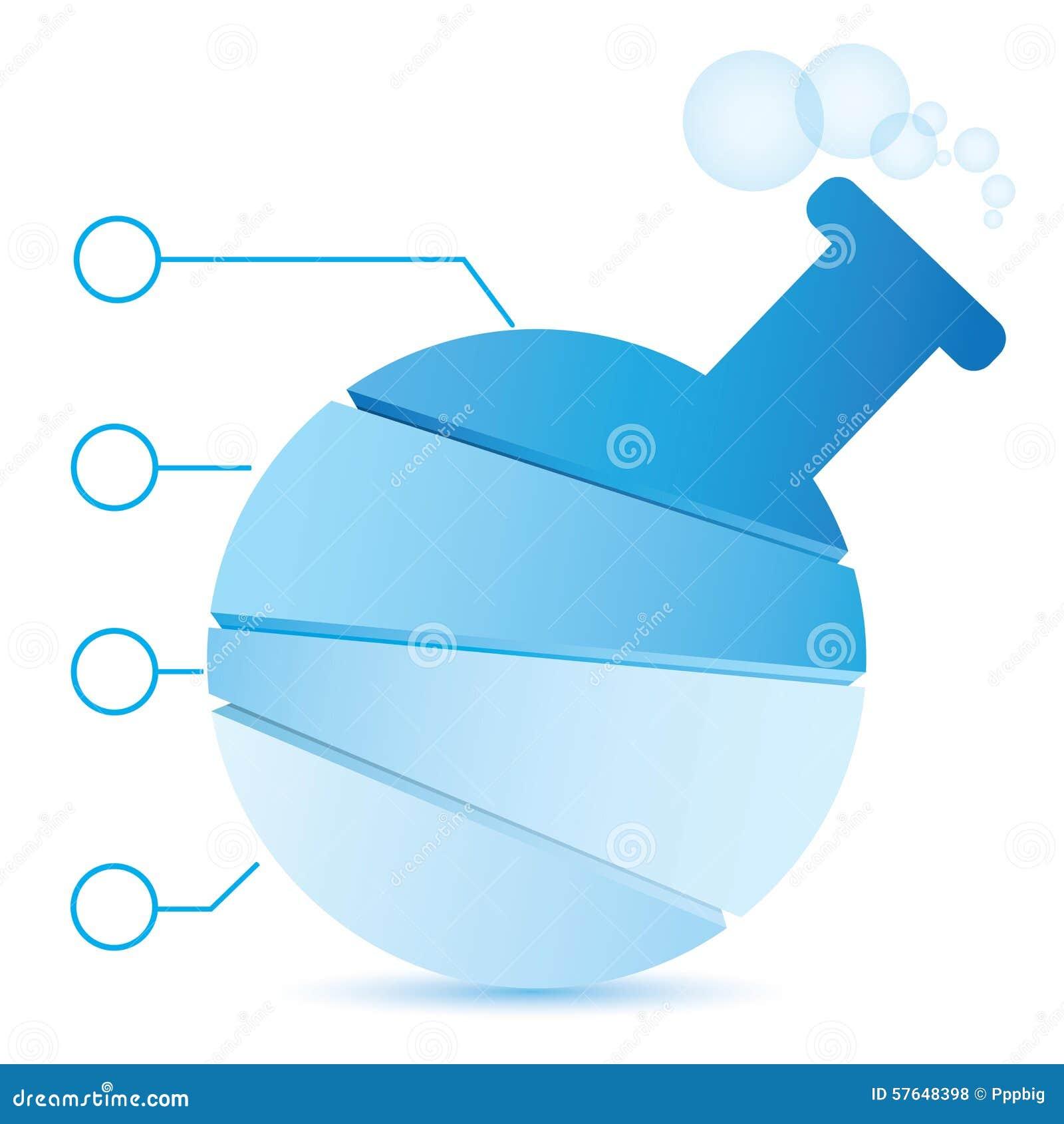 Science tube diagram stock illustration. Illustration of experiment ...