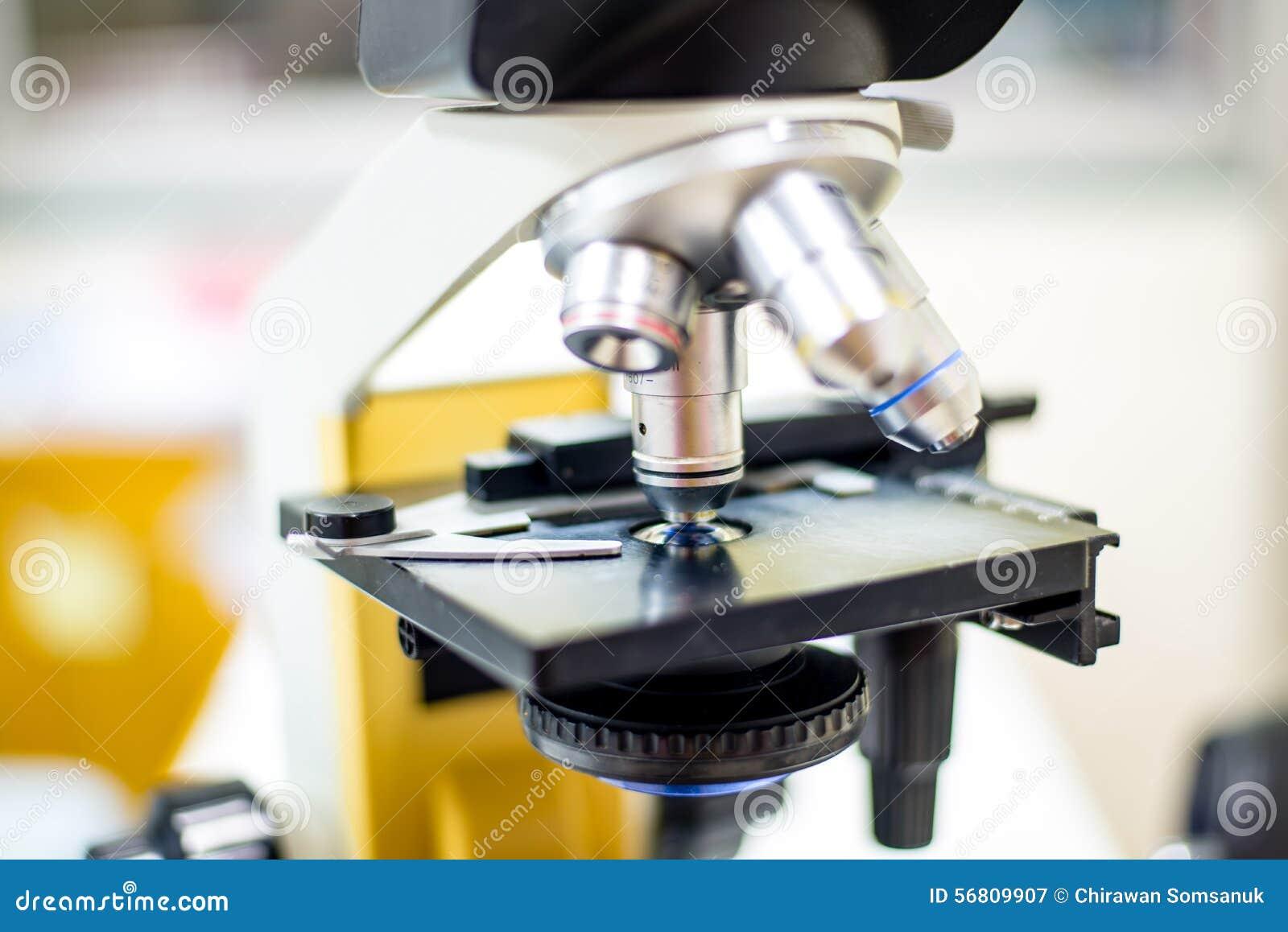 Scientific Biological Microscope.