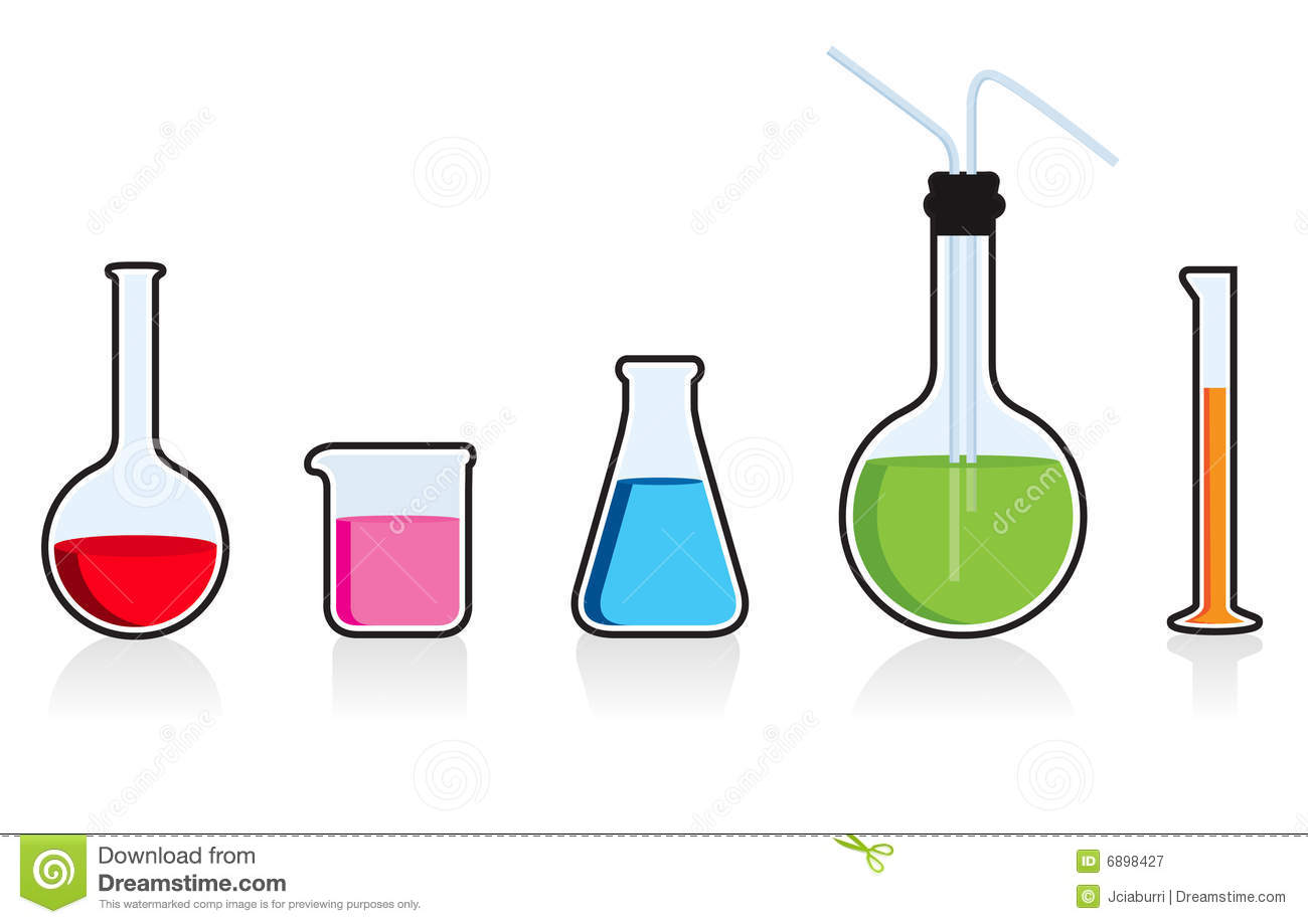 Scientific Chemistry Set. Royalty Free Stock Photography - Image ...
