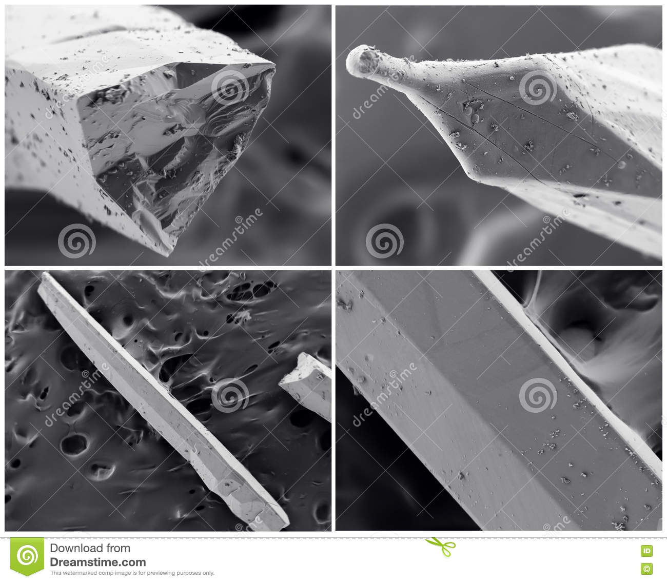 Electron microscopy is a nanotechnology tool