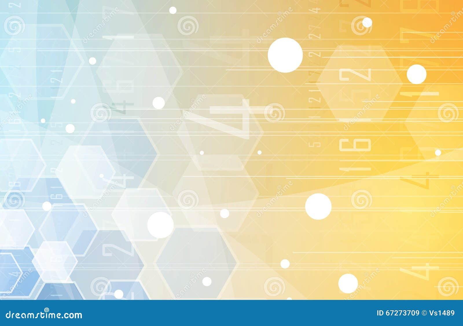 Scientific Future Technology. For Business Presentation ...