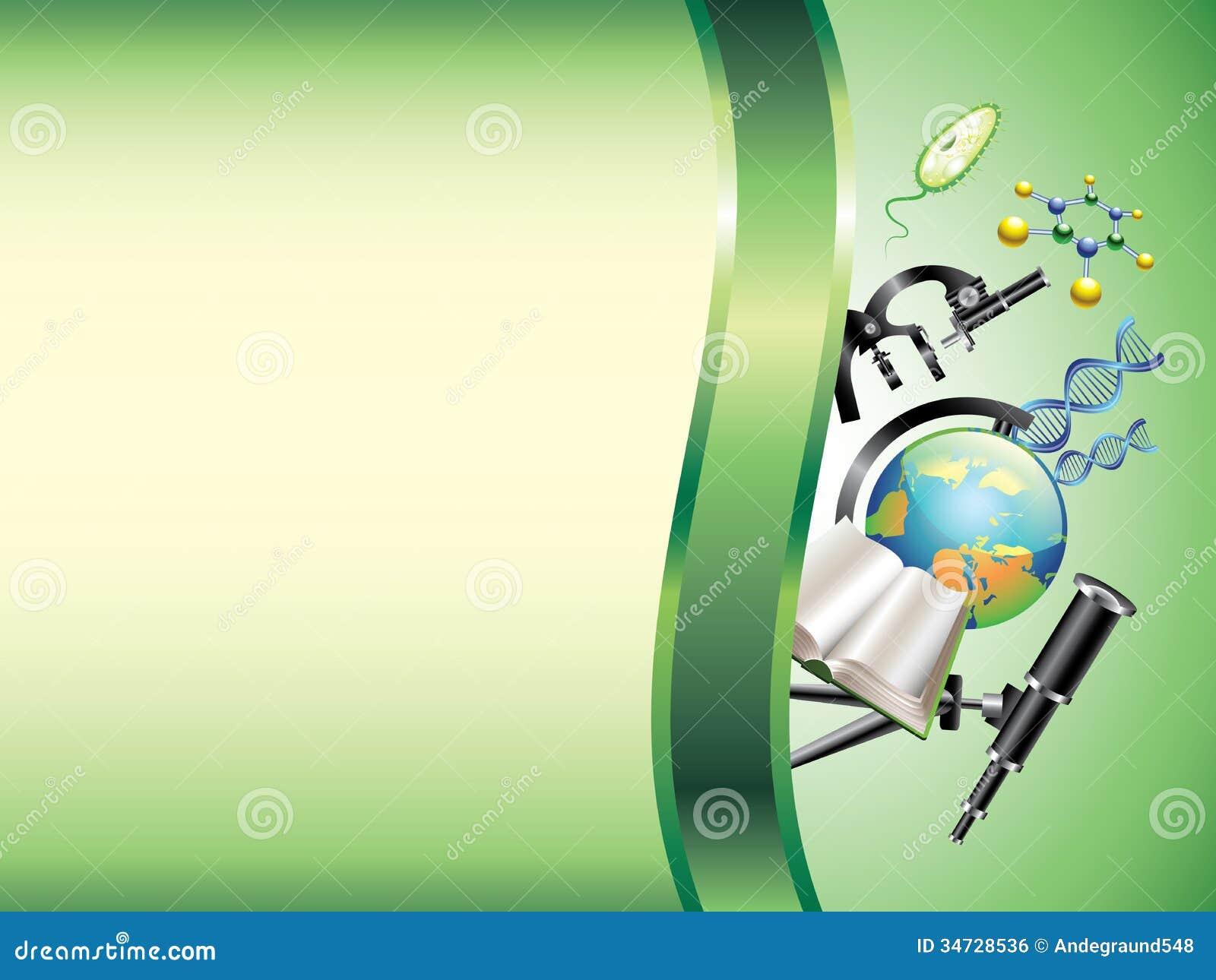 scientific horizontal background stock vector