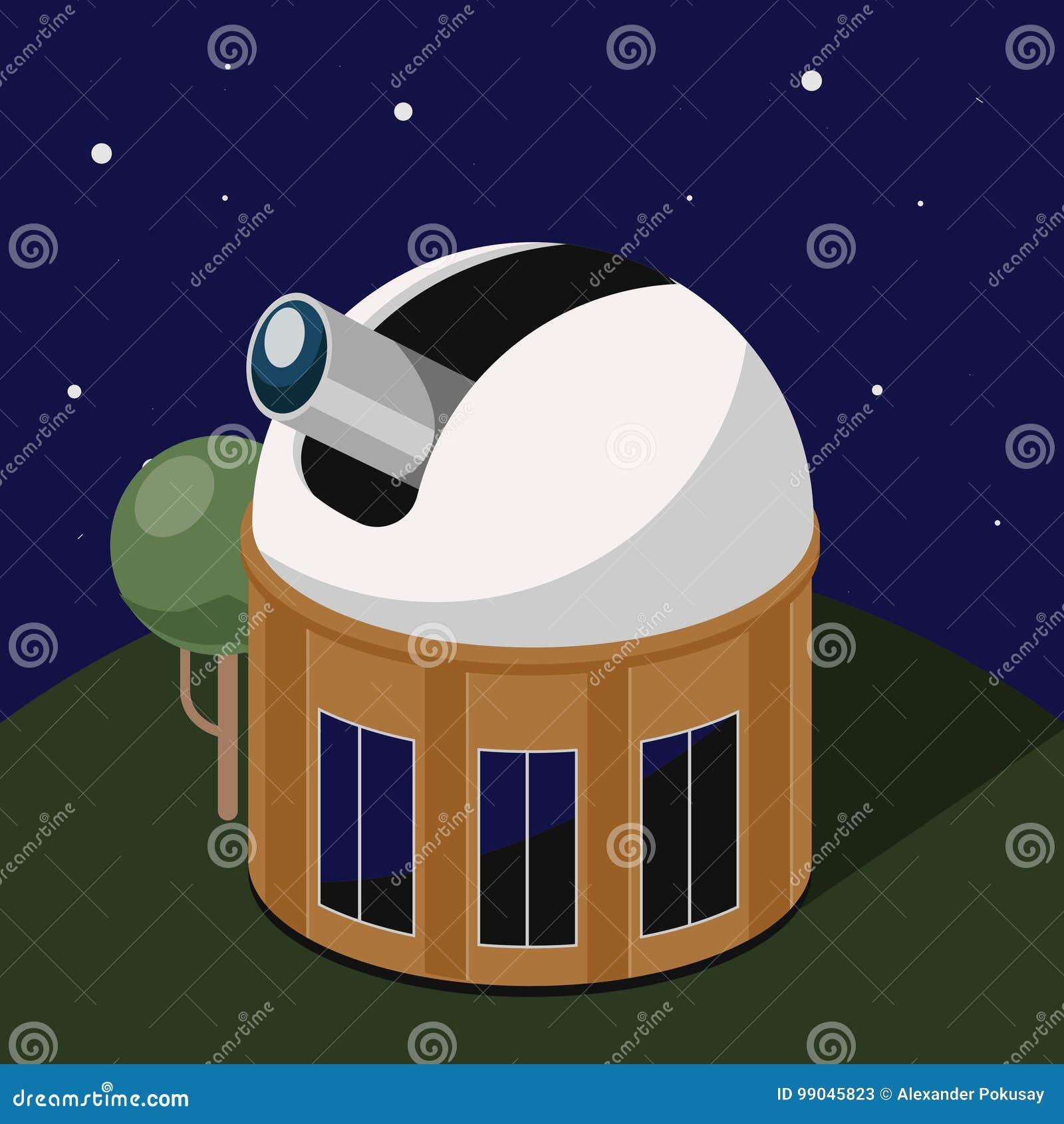 Clip Art Observatory