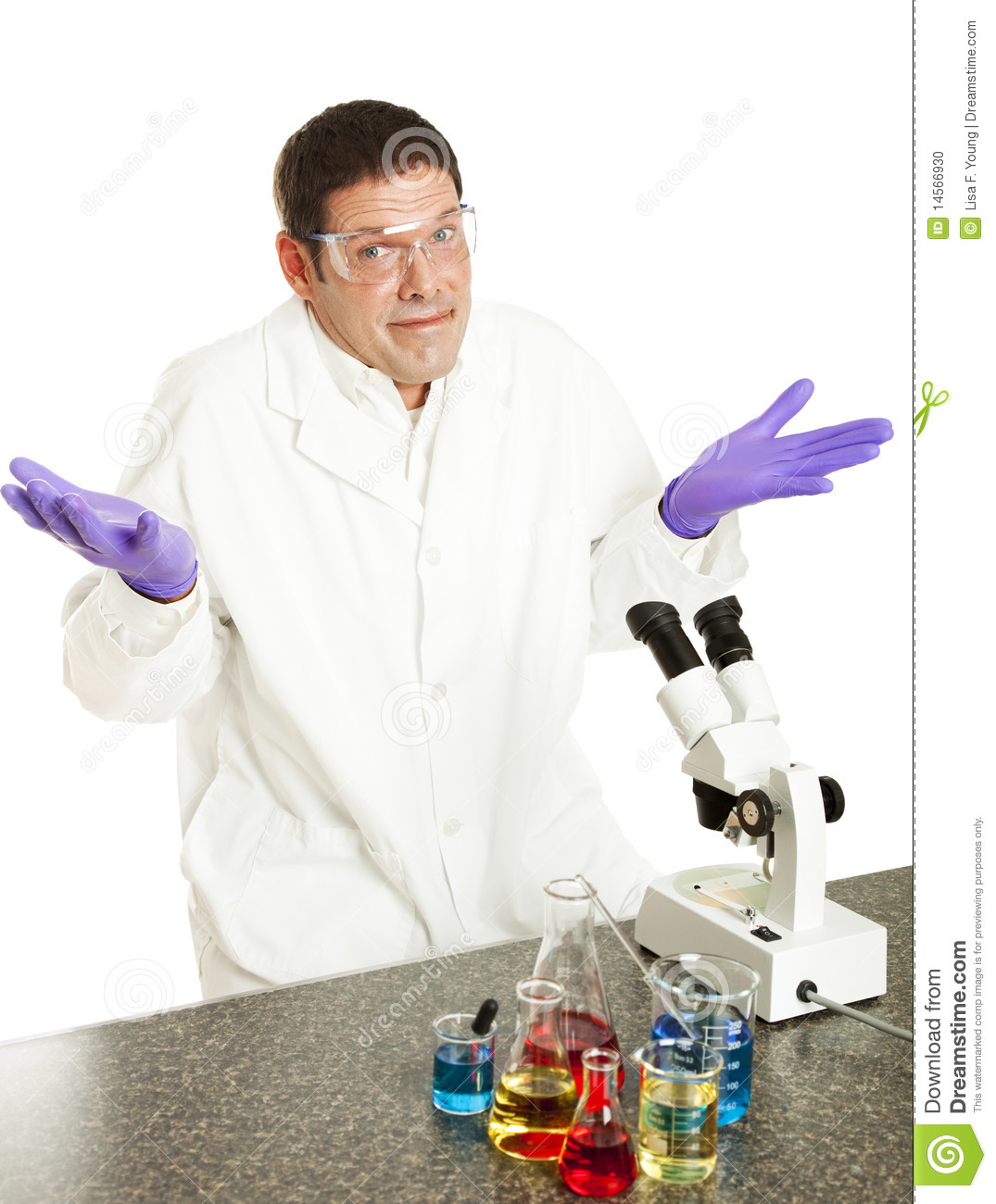Scientist Gives Up