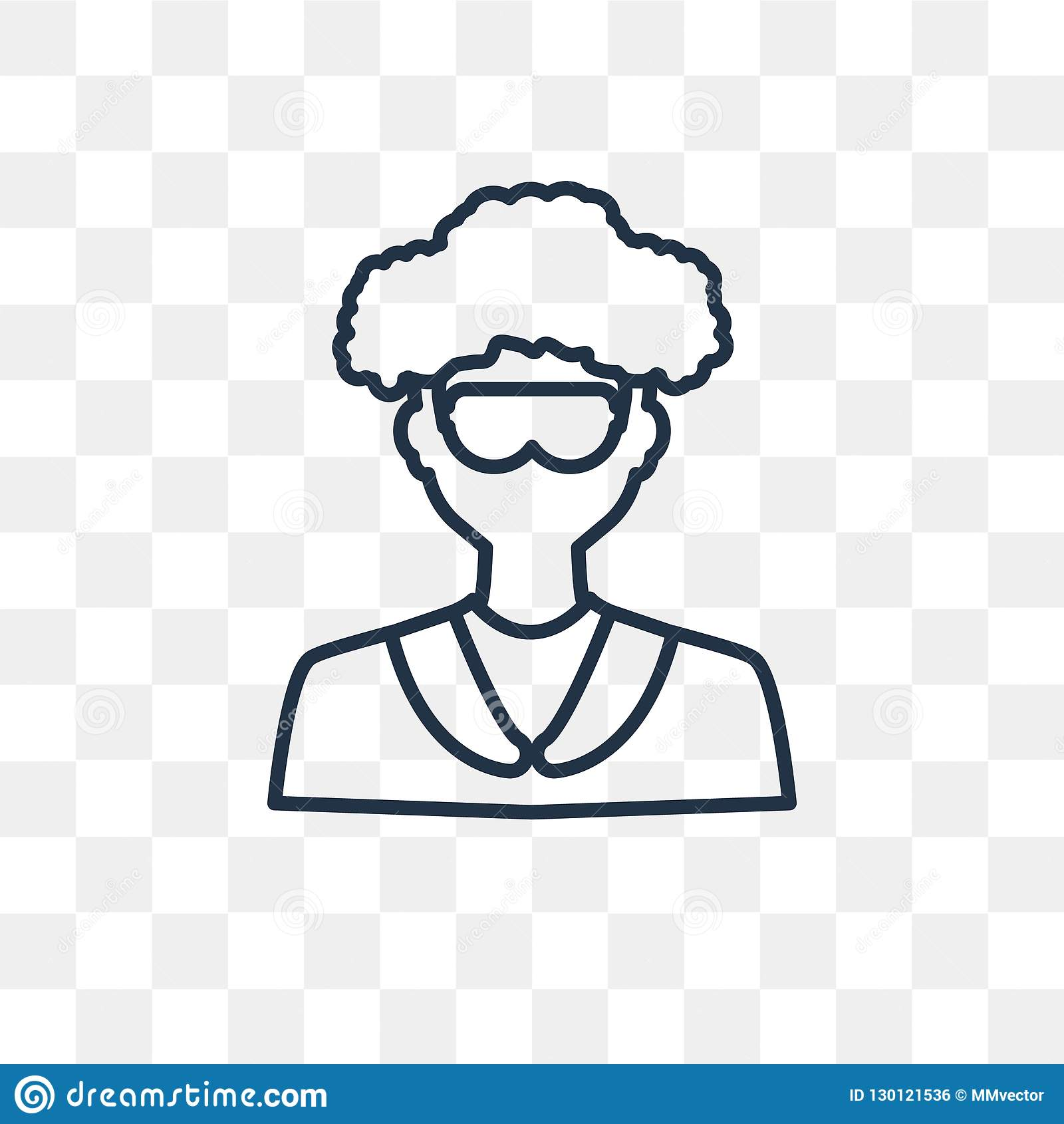 scientist vector icon isolated on transparent background linear stock vector illustration of beaker doctor 130121536 https www dreamstime com scientist vector icon isolated transparent background linear outline high quality transparency concept can be used web image130121536