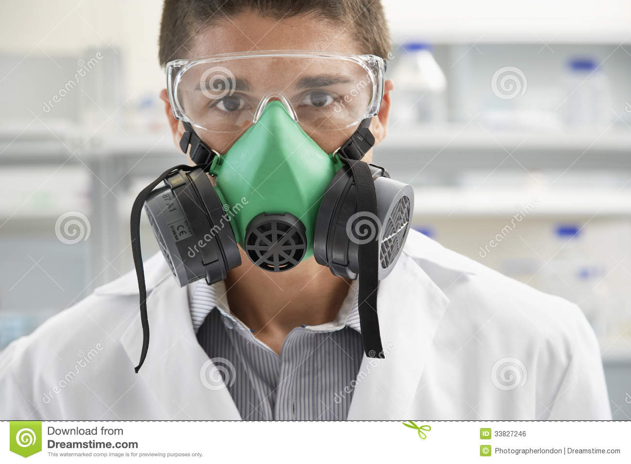 scientist wearing gas mask in laboratory royalty free free clipart piggy bank savings Free Clip Art Black and White Piggy Bank