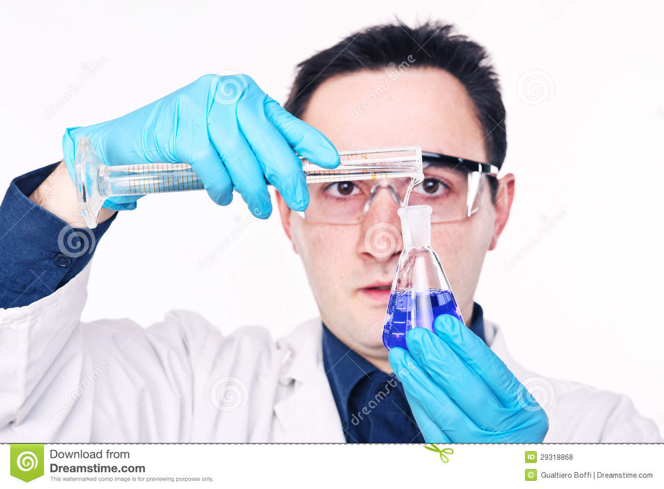 Scientist At Work Royalty Free Stock Photos - Image: 29318868