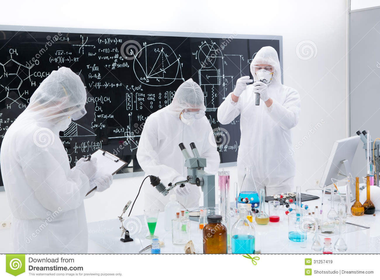 An analysis of scientists