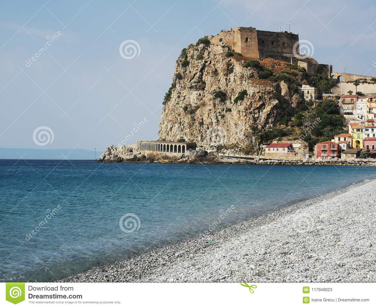 Scilla old historical town, Italy