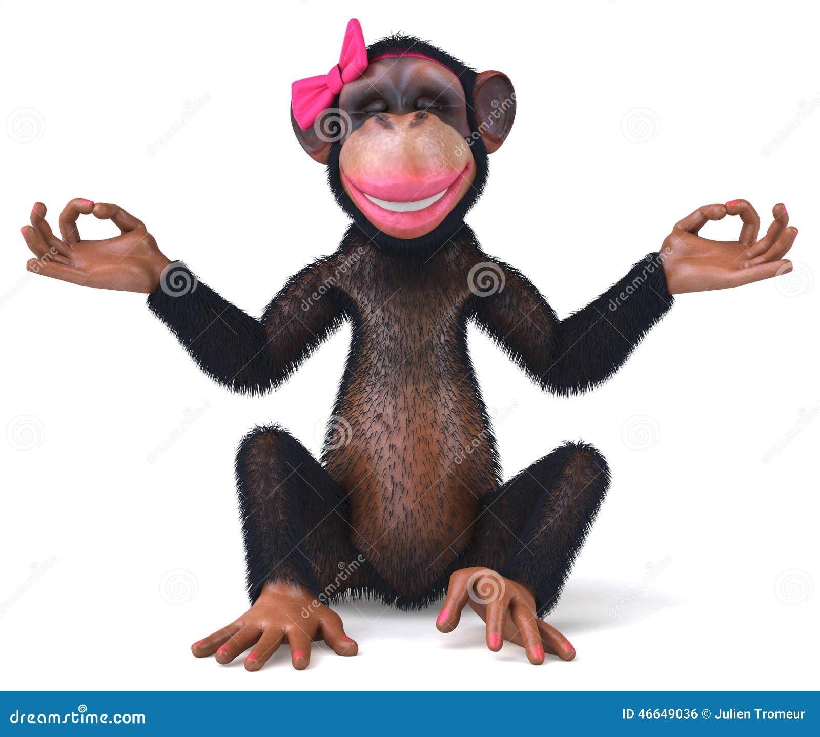 Scimmia Sexy Illustrazione Di Stock Illustrazione Di Scimmia 27281550