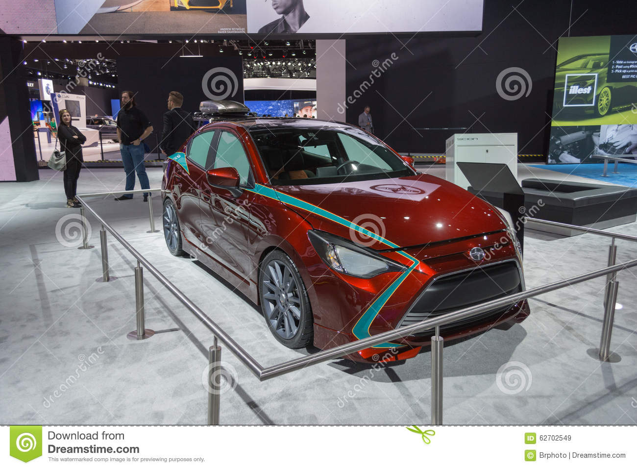 Scion ia customized editorial stock image image 62702549 for Dream motors los angeles