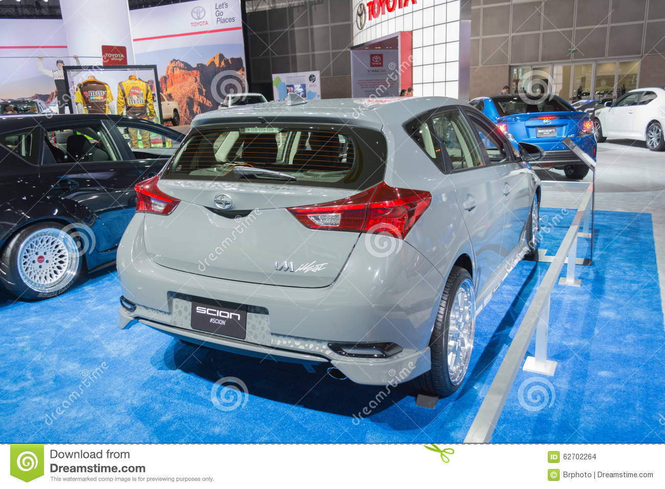 Scion im customized editorial stock image image 62702264 for Dream motors los angeles