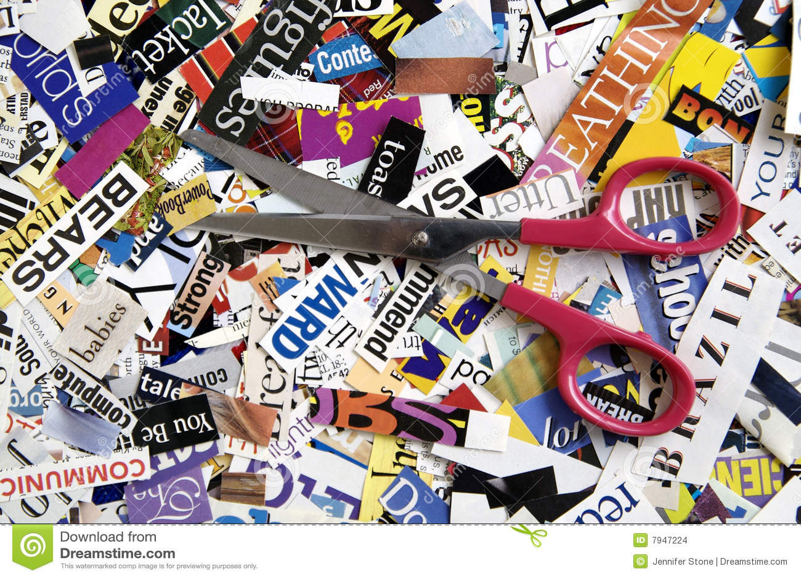 Magazine word background stock photography image 12291482 - Scissors On Word Background Stock Images