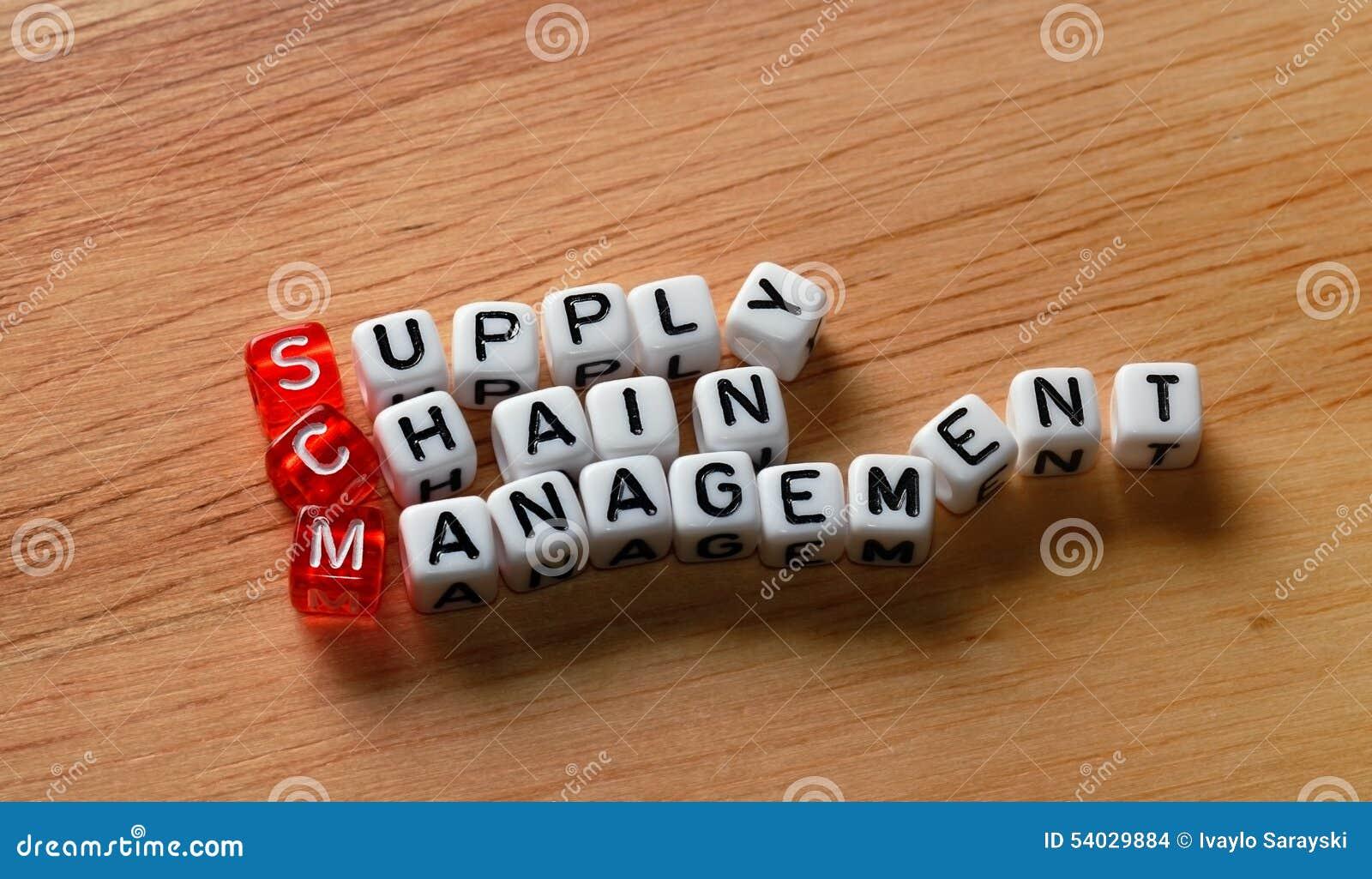SCM-Versorgungskette-Management auf Holz