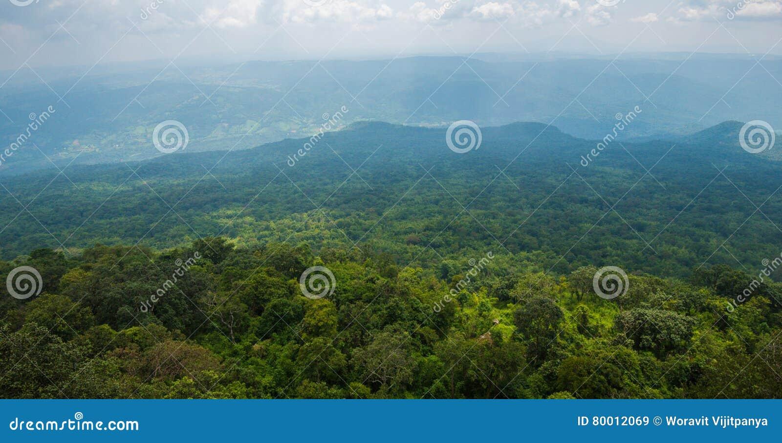 Scogliera di Lom Sak del paesaggio