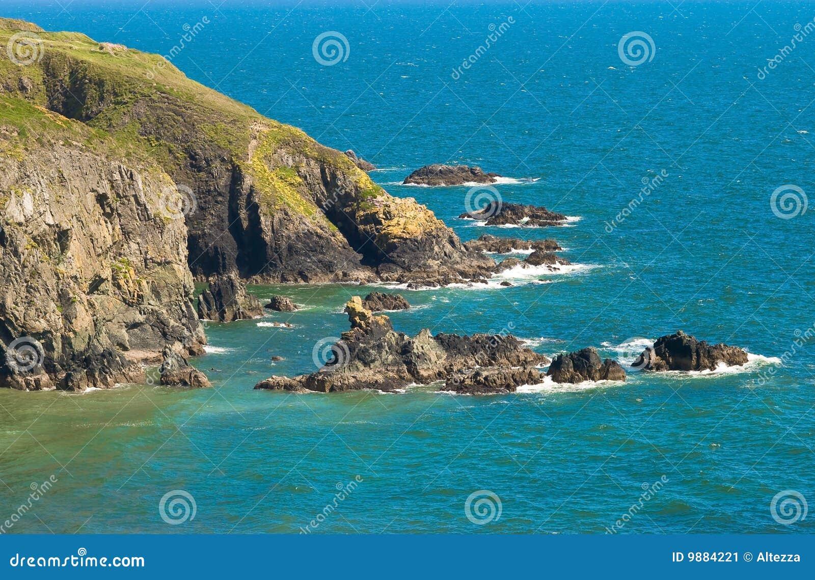Scogliere dal mare blu, Irlanda