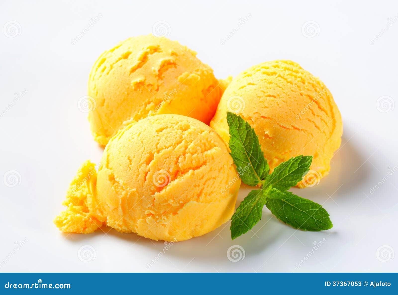 Creamy Mango Sorbet Recipe — Dishmaps