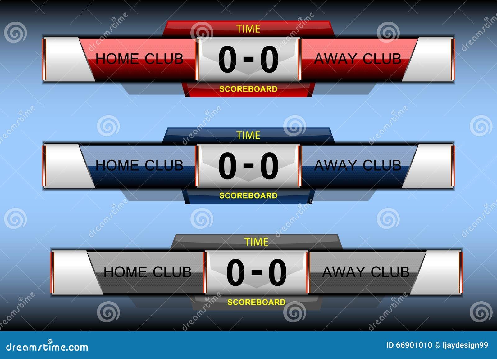 scoreboard sport elements