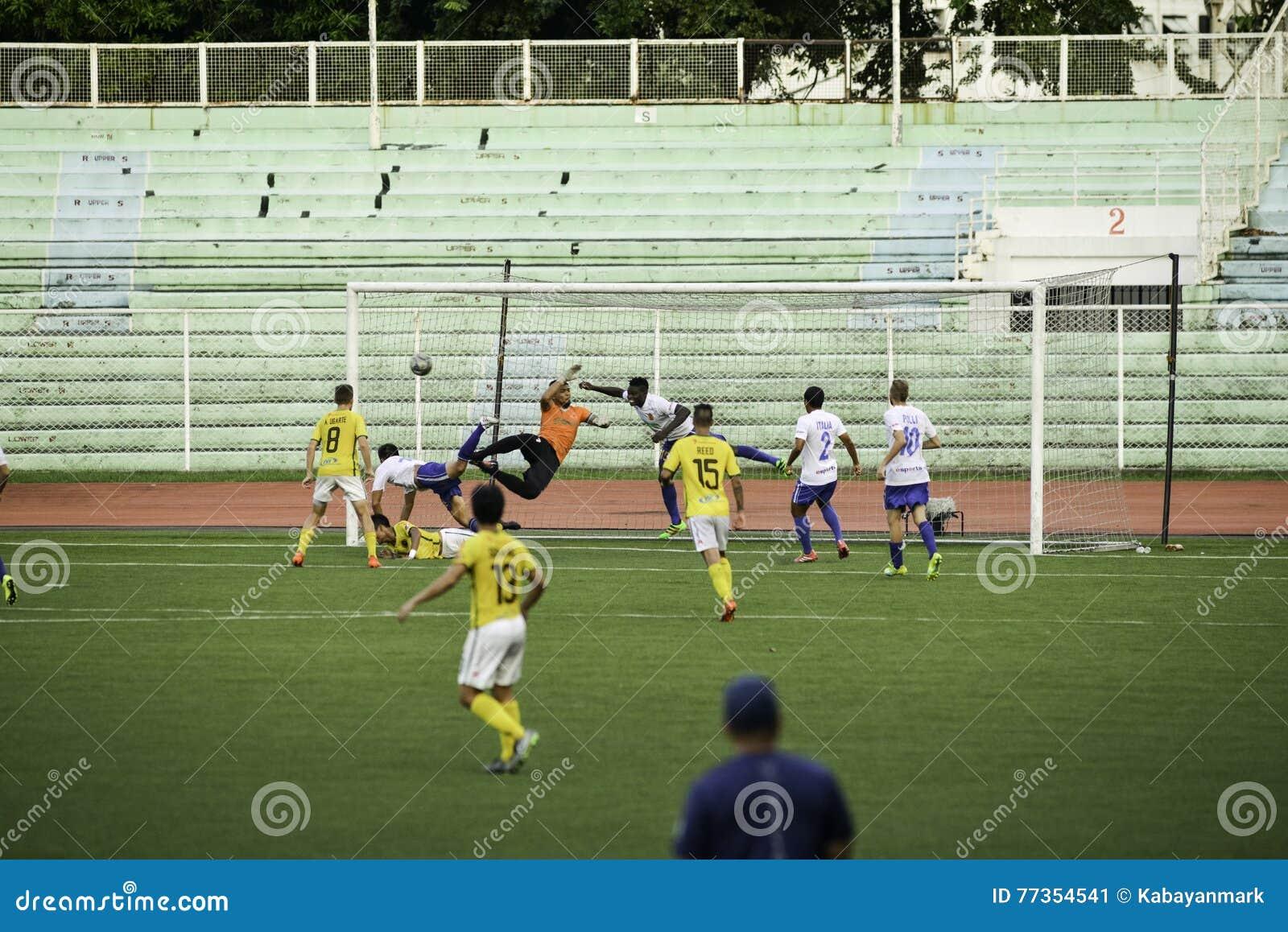 Scored Goal Kaya vs Stallions - Manila Football United League Philippines