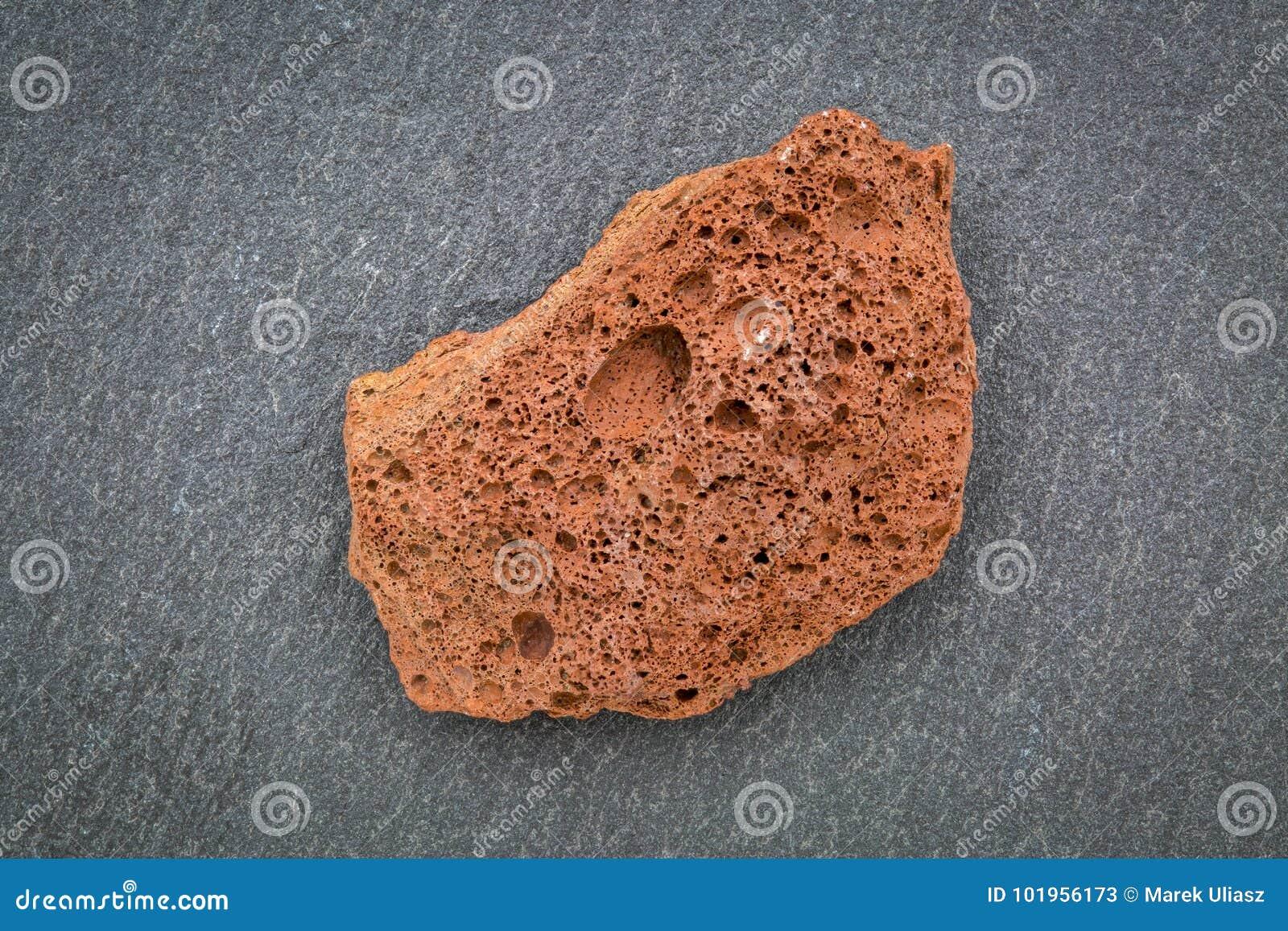 Scoria Igneous Rock Sample Stock Image Image Of Volcano 101956173
