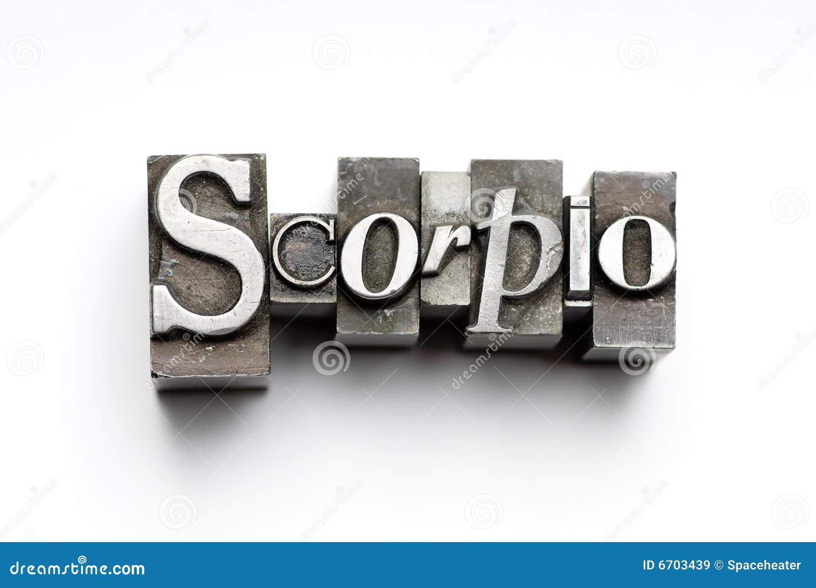Scorpio Sign Scorpio Zodiac Sign