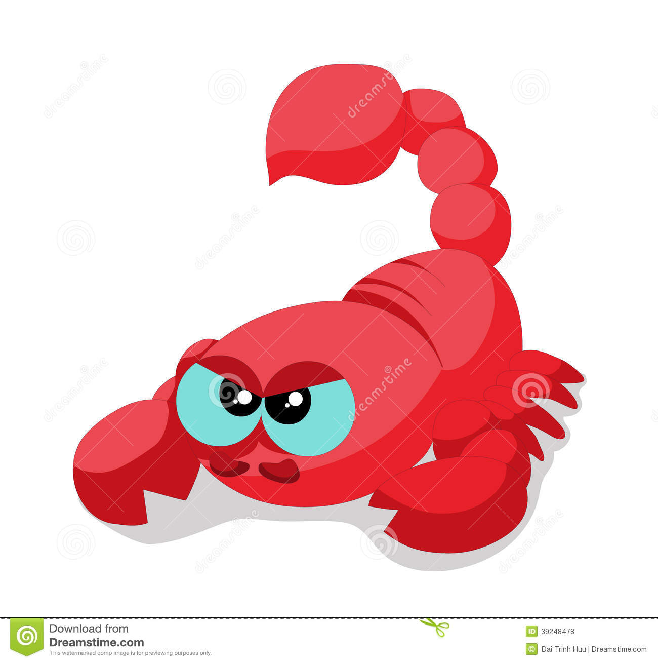 Scorpion So Cute Stock Vector - Image: 39248478