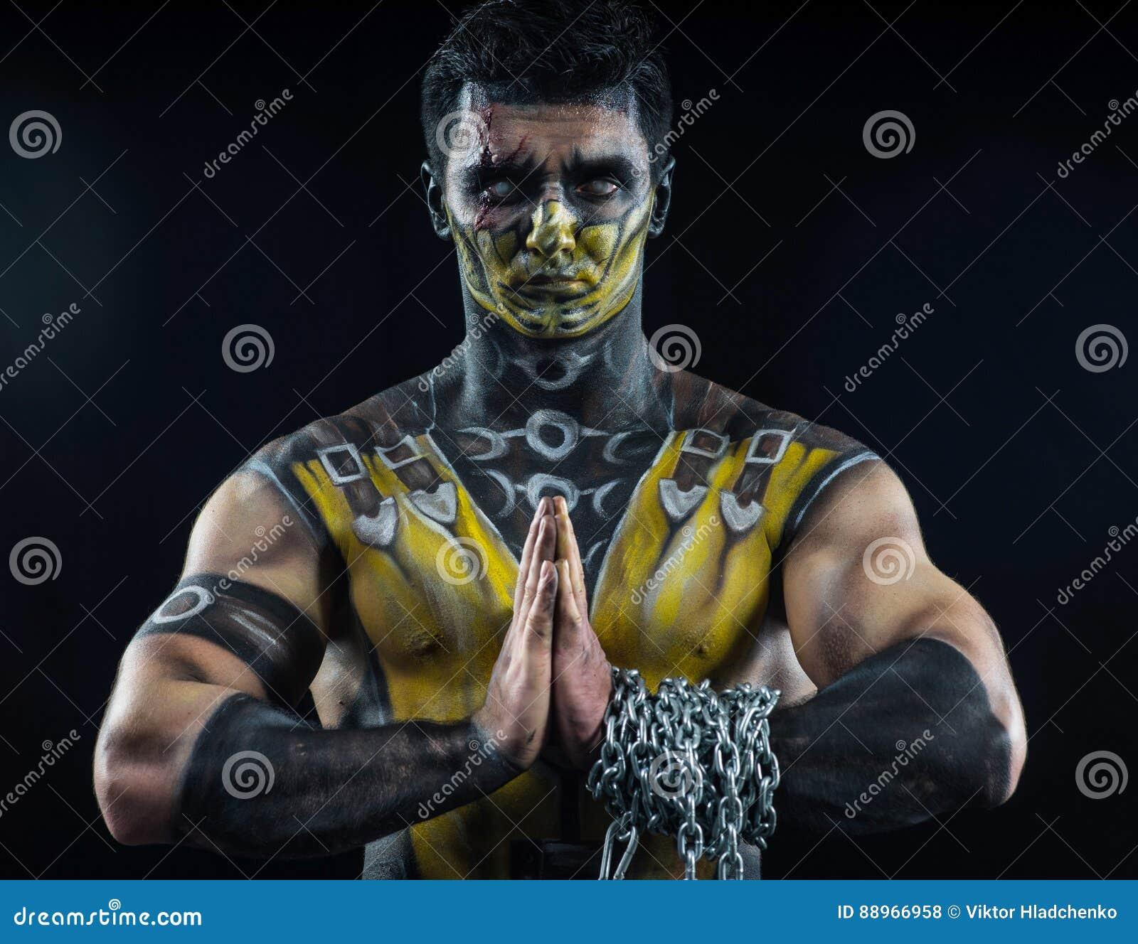 Scorpione professionale di trucco