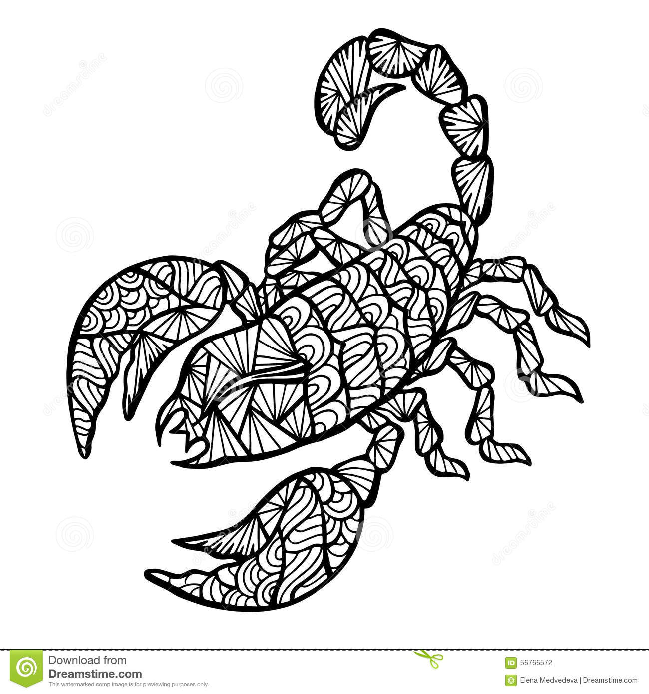 Adult Coloring Page January
