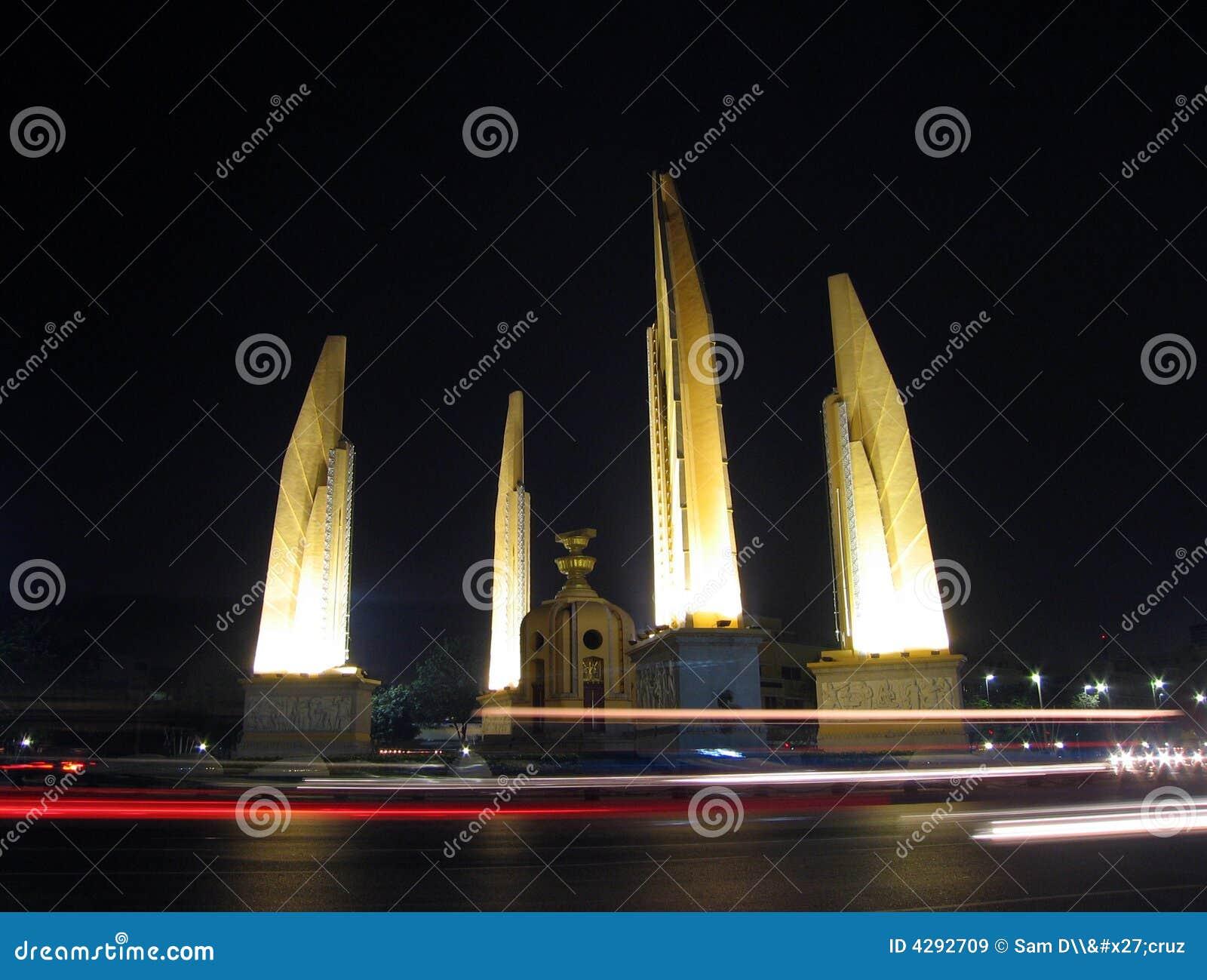 Scorrendo veloce entro Night, la Tailandia