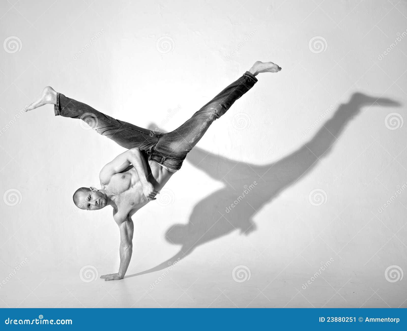 Scossa acrobatica di Breakdance