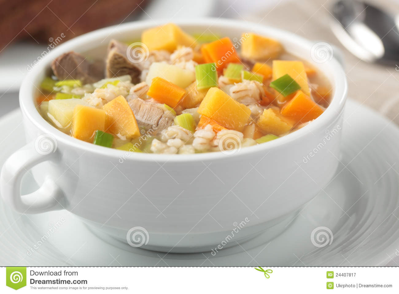 Scotch Broth Royalty Free Stock Photography - Image: 24407817