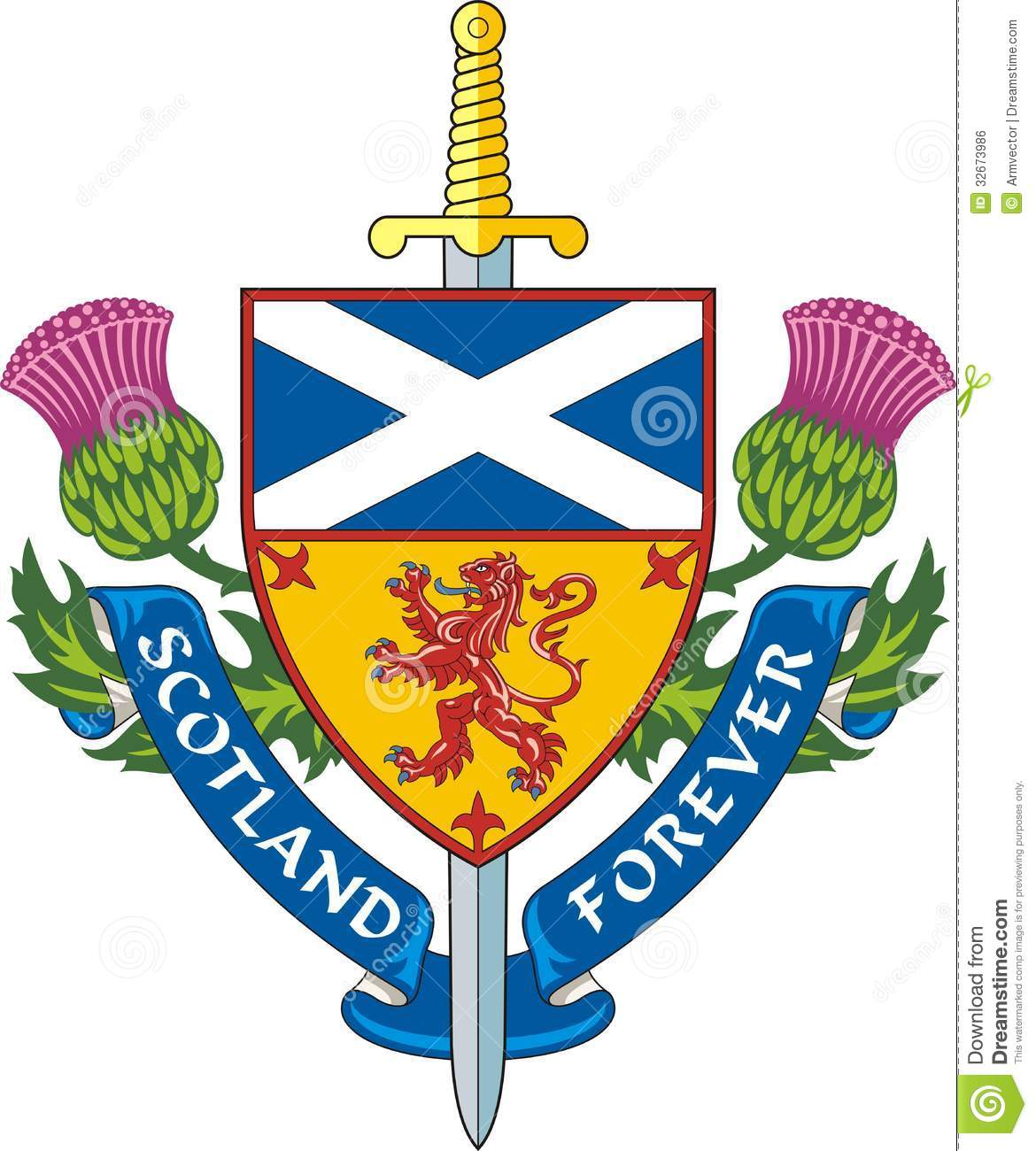Scotland lessons tes teach scotland forever vector royalty free stock image image 32673986 buycottarizona
